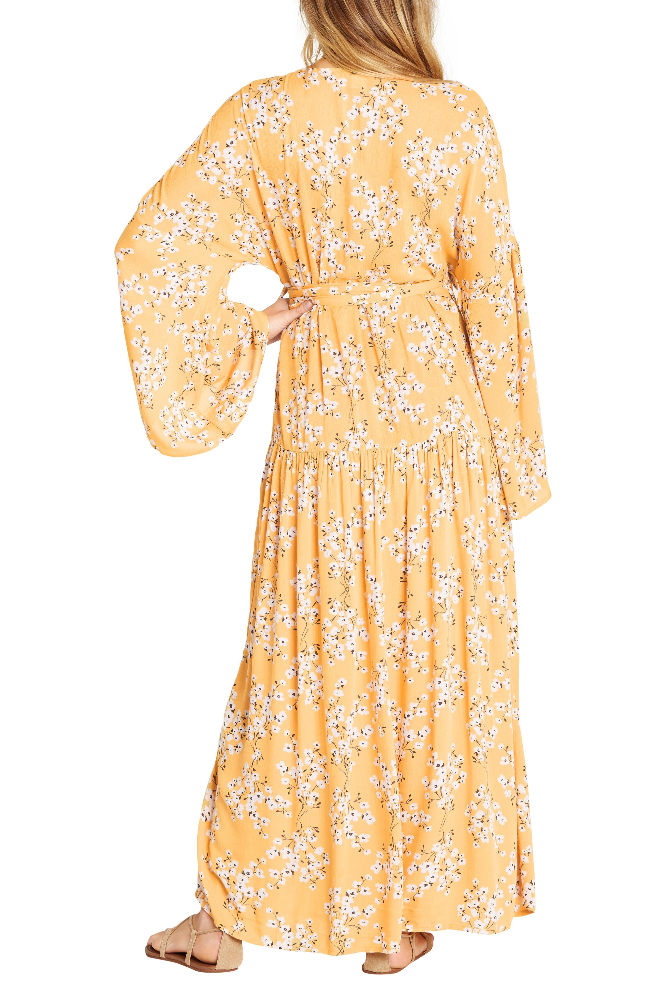 BILLABONG, My Favorite Maxi Dress, Alternate thumbnail 2, color, GOLDEN HOUR
