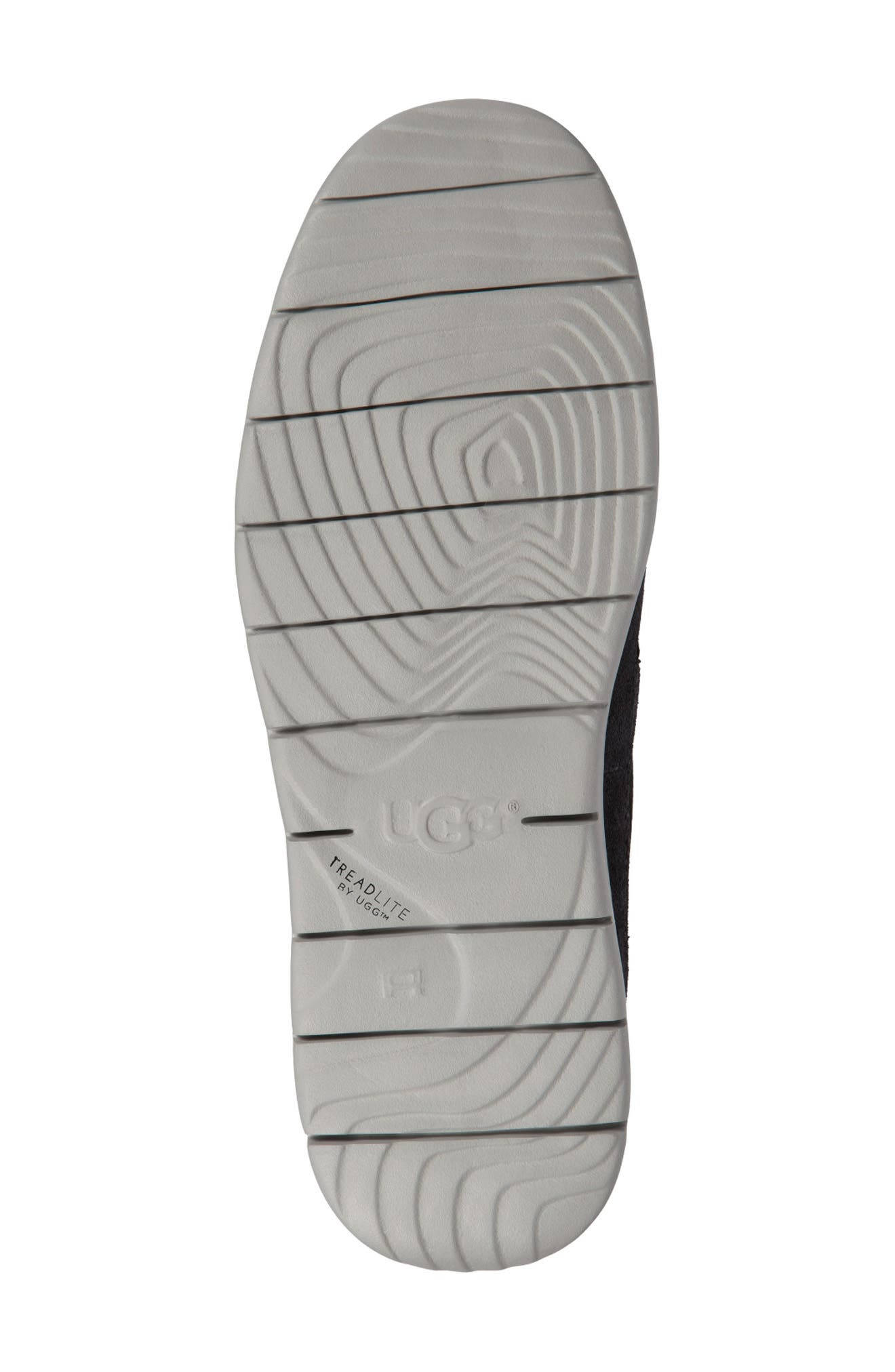 UGG<SUP>®</SUP>, Freamon Waterproof Chukka Boot, Alternate thumbnail 5, color, DARK GREY