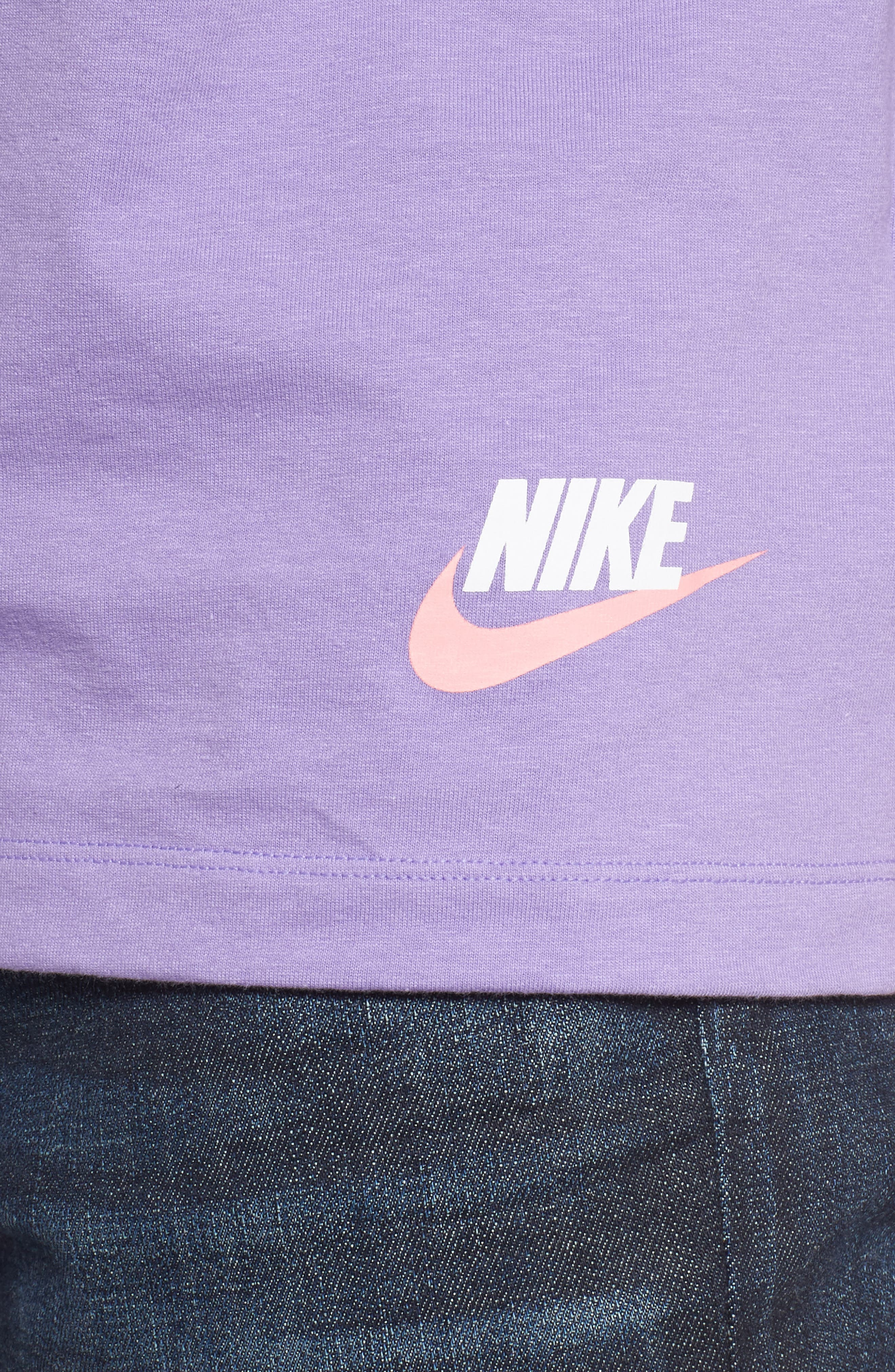 NIKE, Classic Have a Nike Day Tank, Alternate thumbnail 4, color, SPACE PURPLE