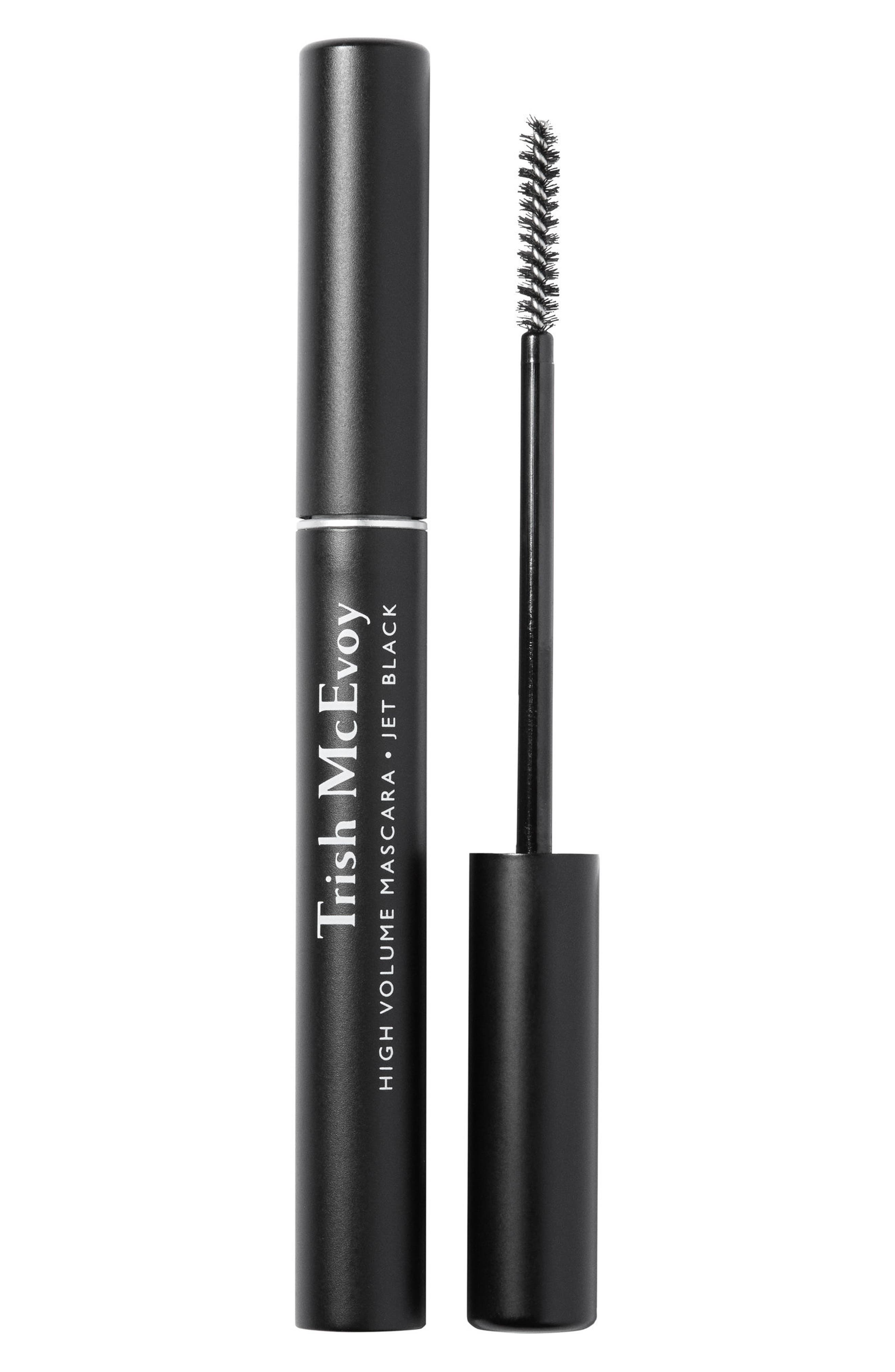 TRISH MCEVOY, High Volume Mascara, Main thumbnail 1, color, JET BLACK