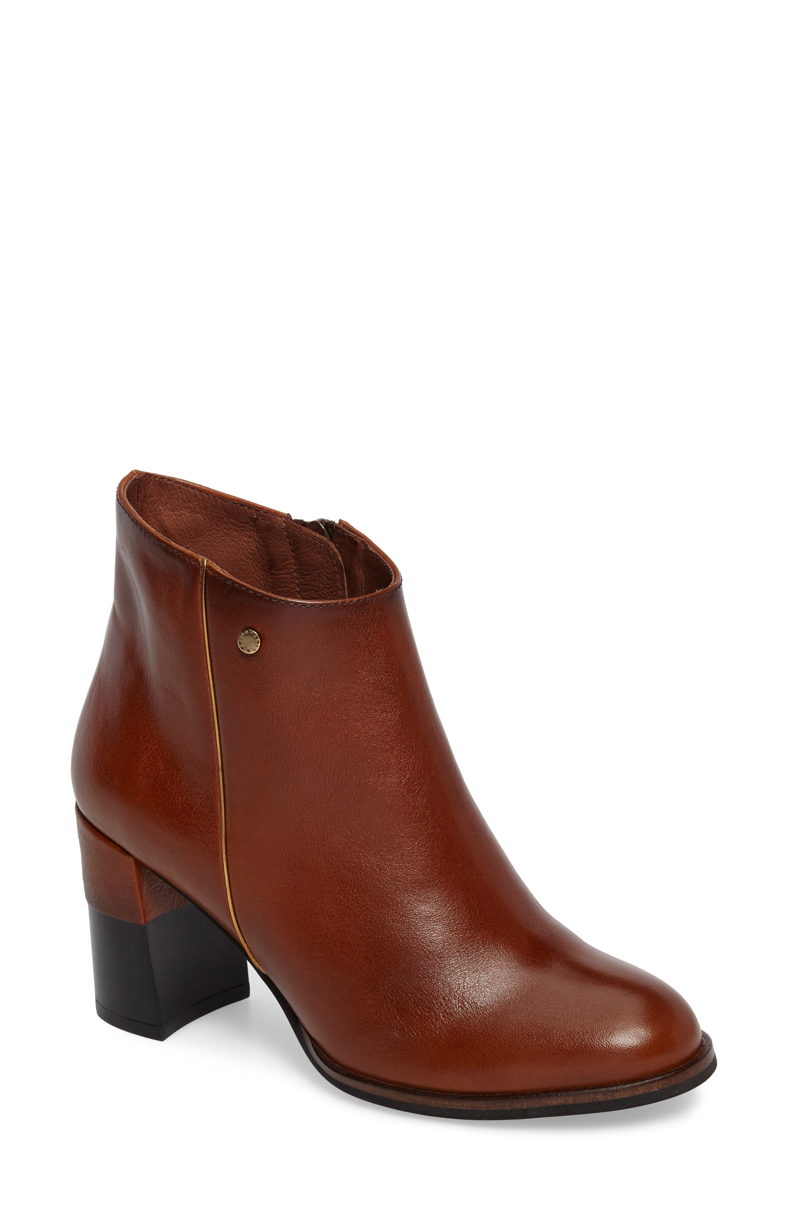 HISPANITAS Ashbury Bootie, Main, color, CUOIO LEATHER