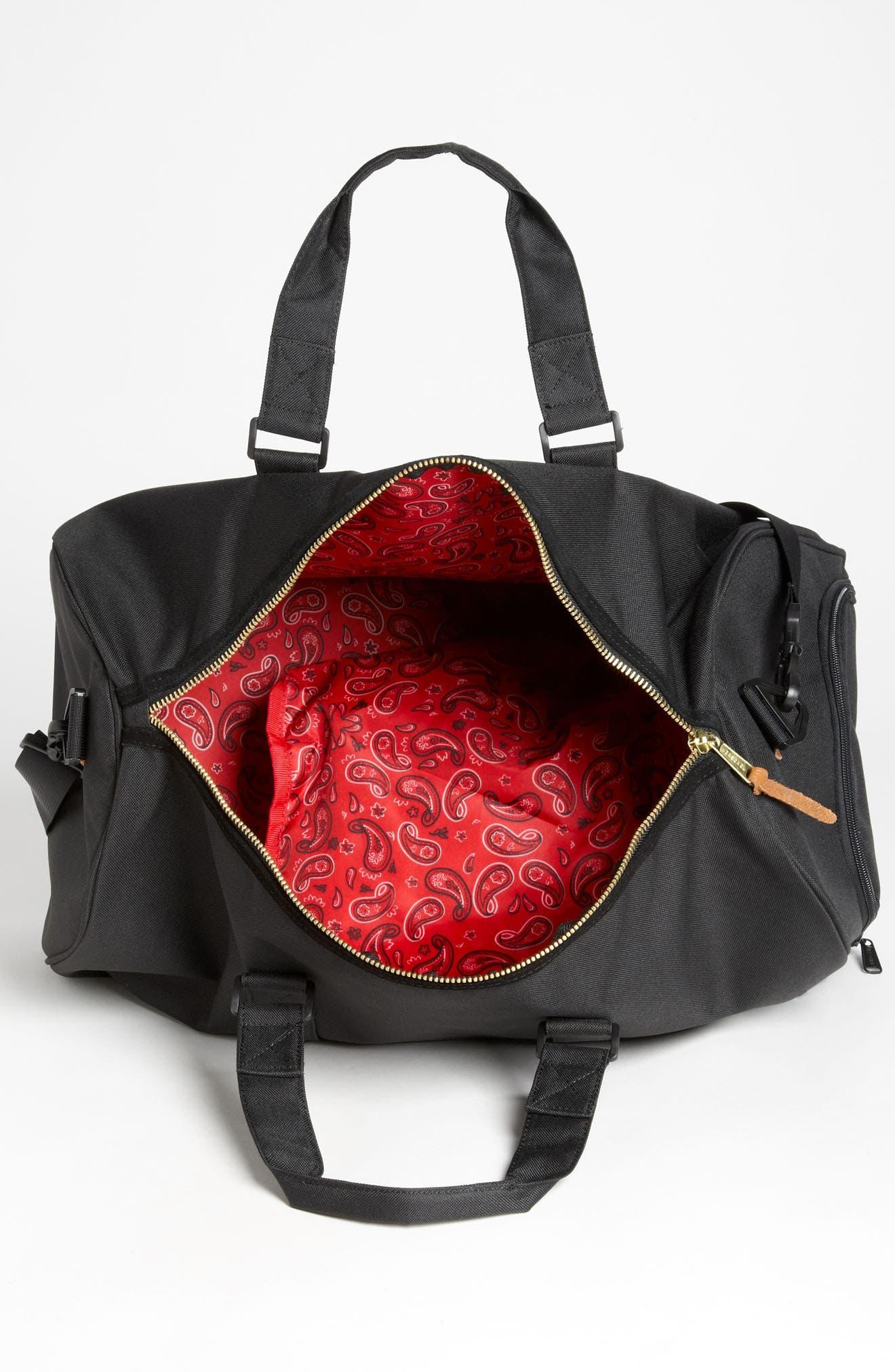 HERSCHEL SUPPLY CO., Novel Duffle Bag, Alternate thumbnail 5, color, 001
