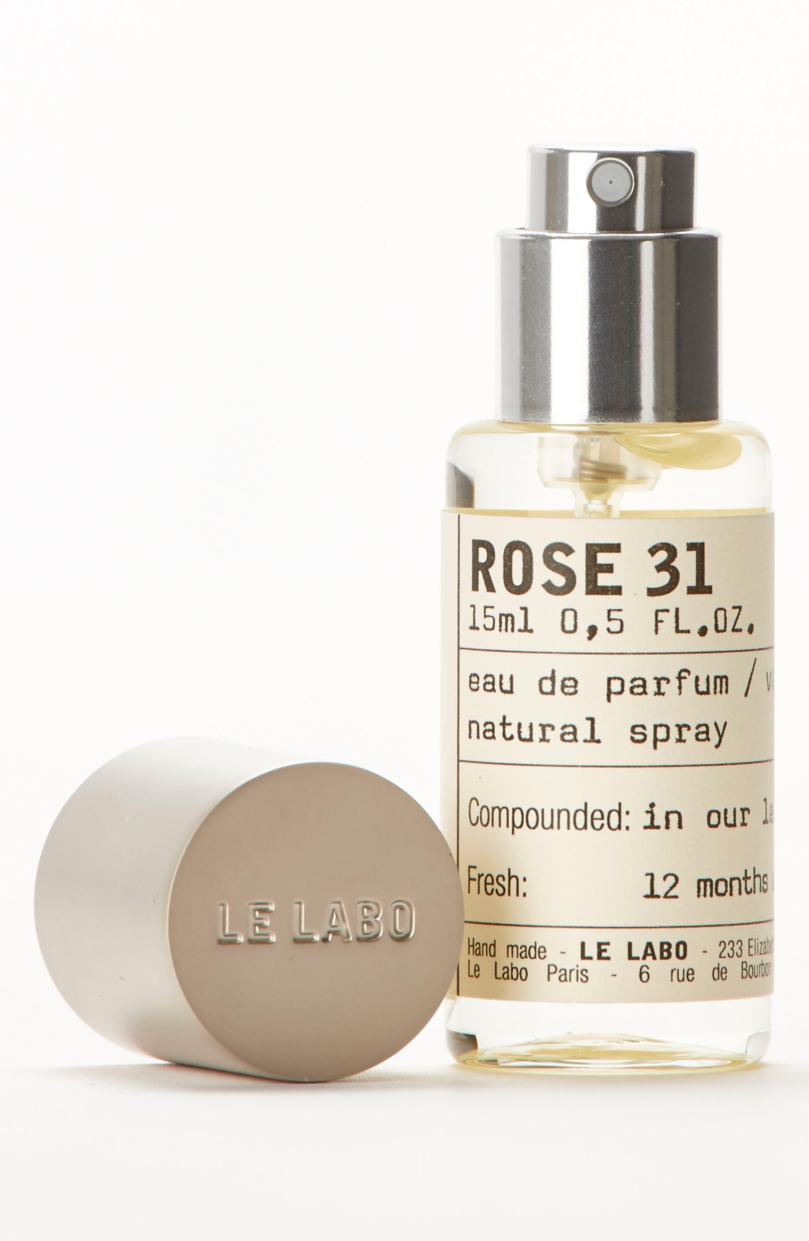 LE LABO, Rose 31 Eau de Parfum, Alternate thumbnail 3, color, NO COLOR
