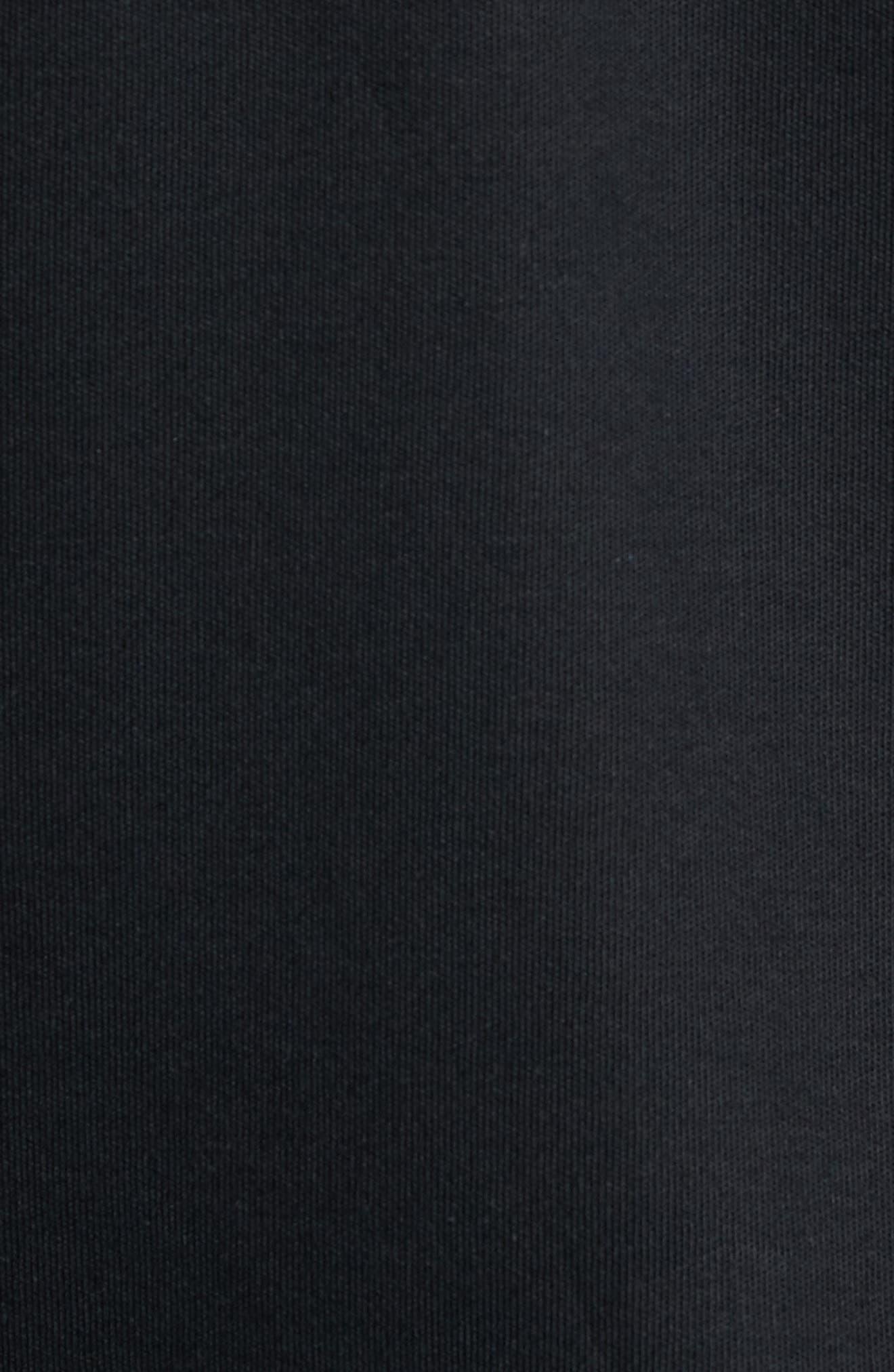 BOBBY JONES, 'New Leaderboard' Quarter Zip Pullover, Alternate thumbnail 5, color, BLACK