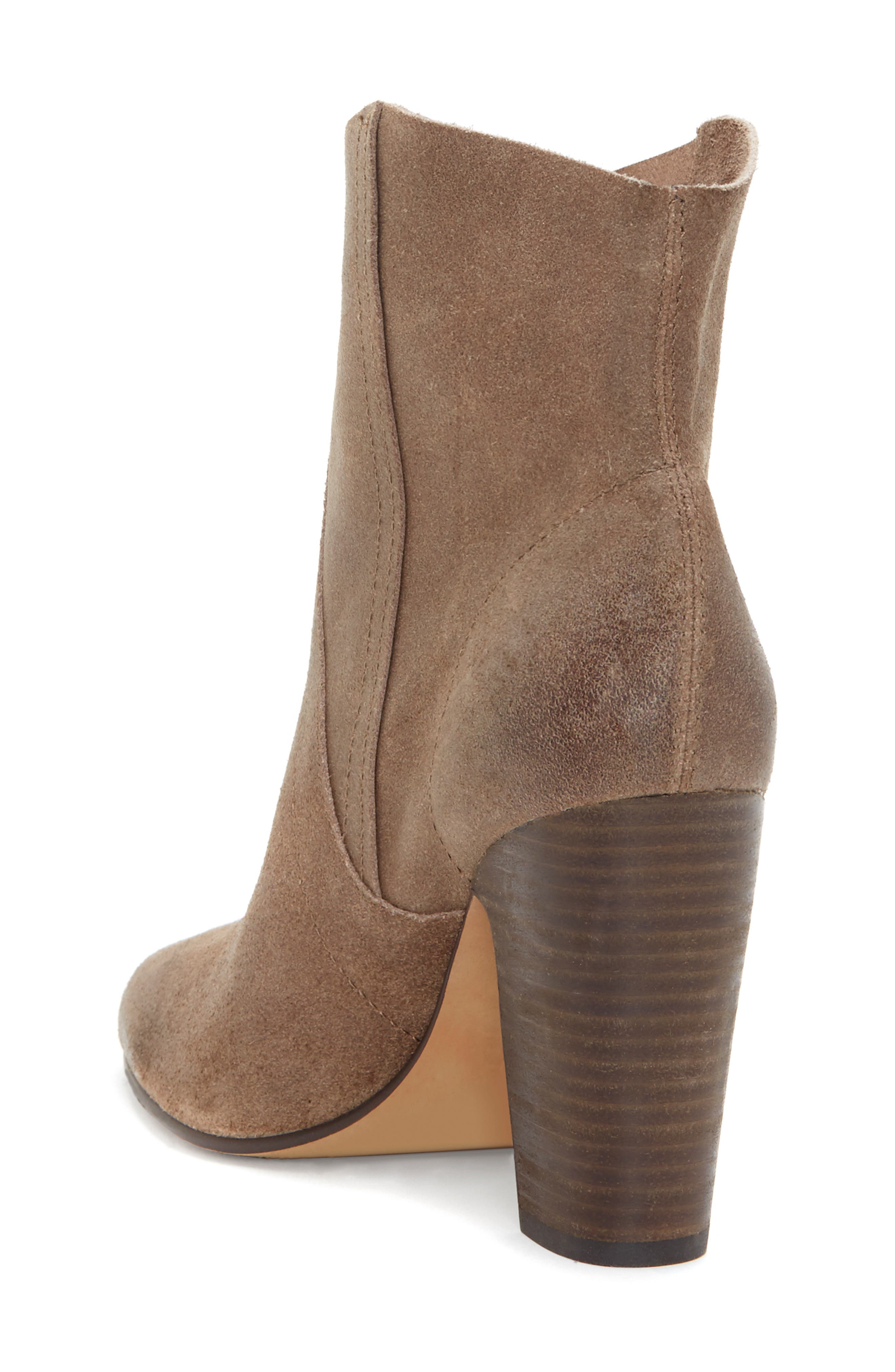 VINCE CAMUTO, Creestal Western Bootie, Alternate thumbnail 2, color, BEDROCK LEATHER