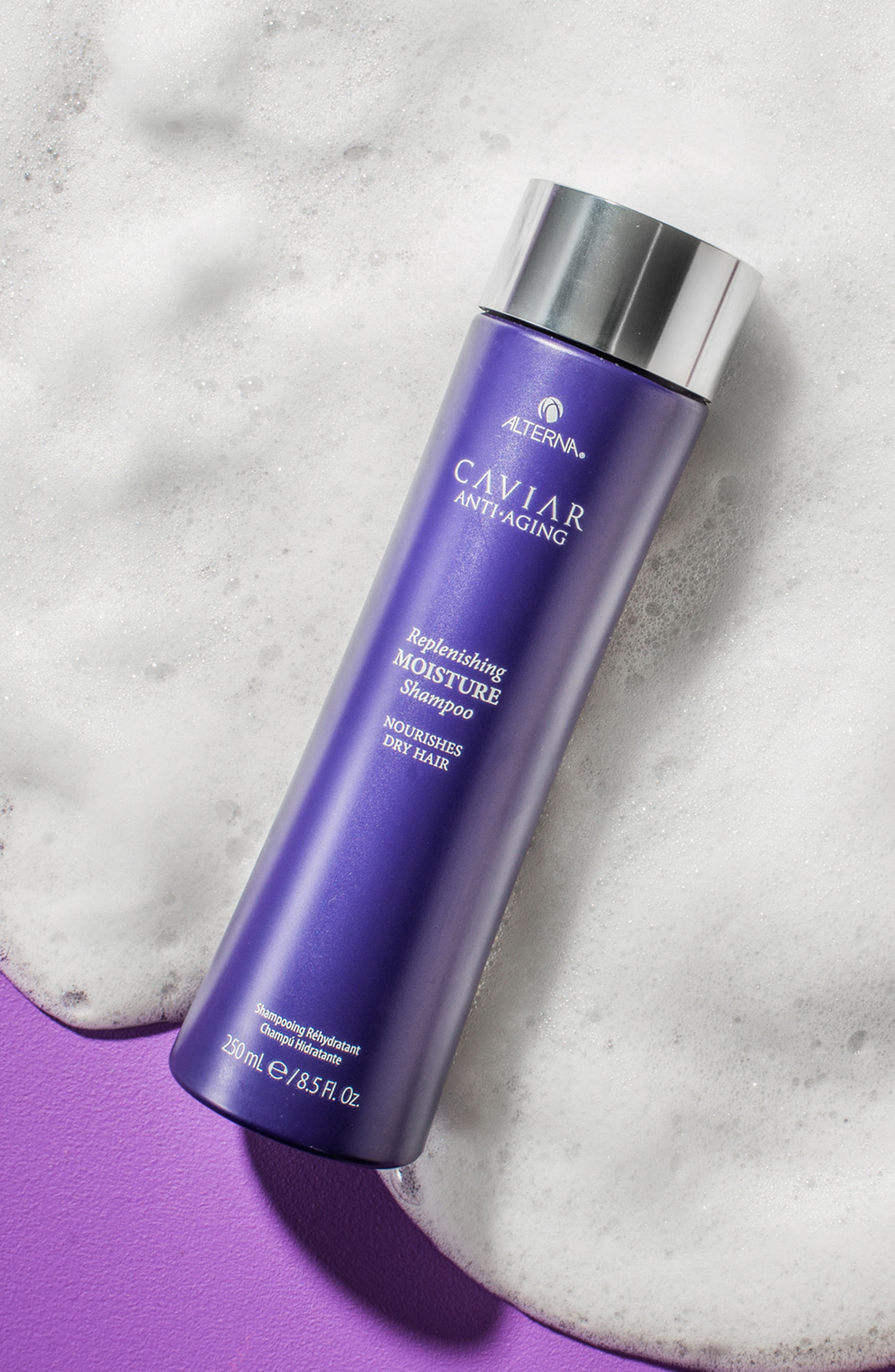 ALTERNA<SUP>®</SUP>, Caviar Anti-Aging Replenishing Moisture Shampoo, Alternate thumbnail 3, color, NO COLOR