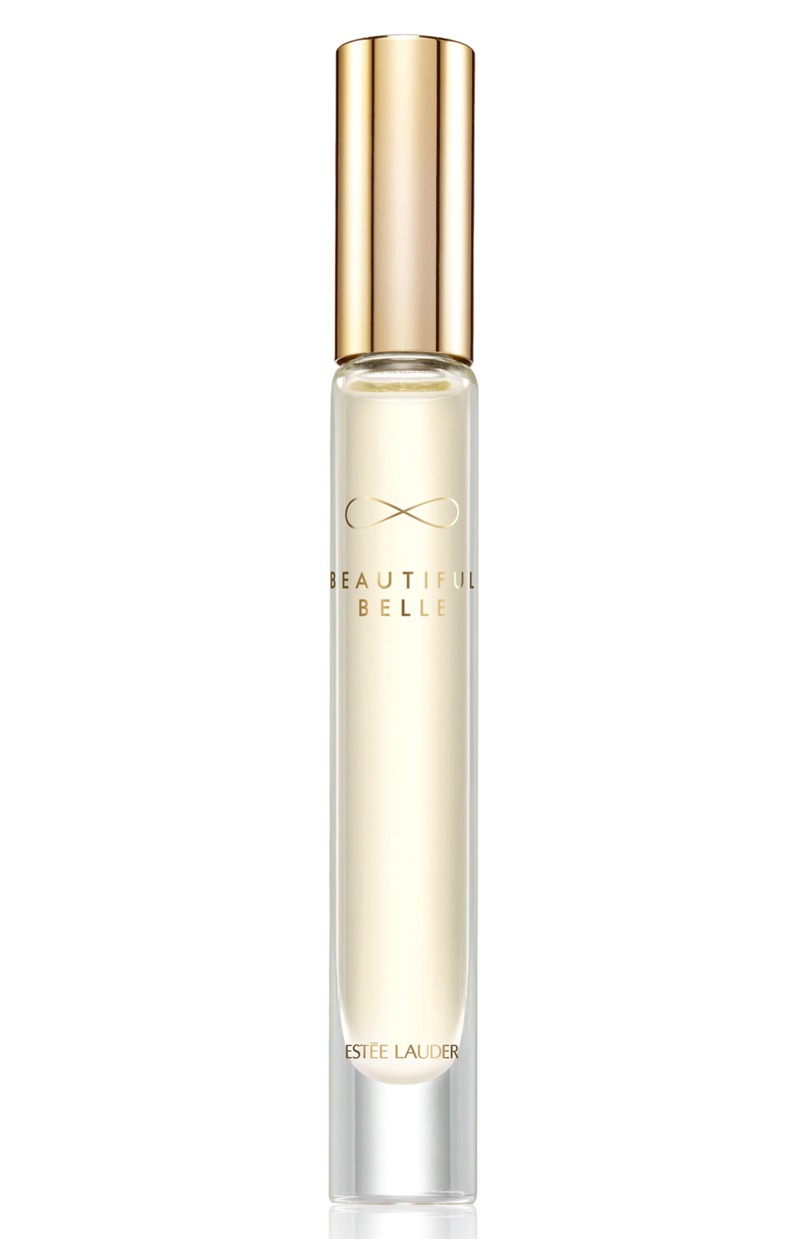 ESTÉE LAUDER, Beautiful Belle Eau de Parfum Rollerball, Main thumbnail 1, color, 000
