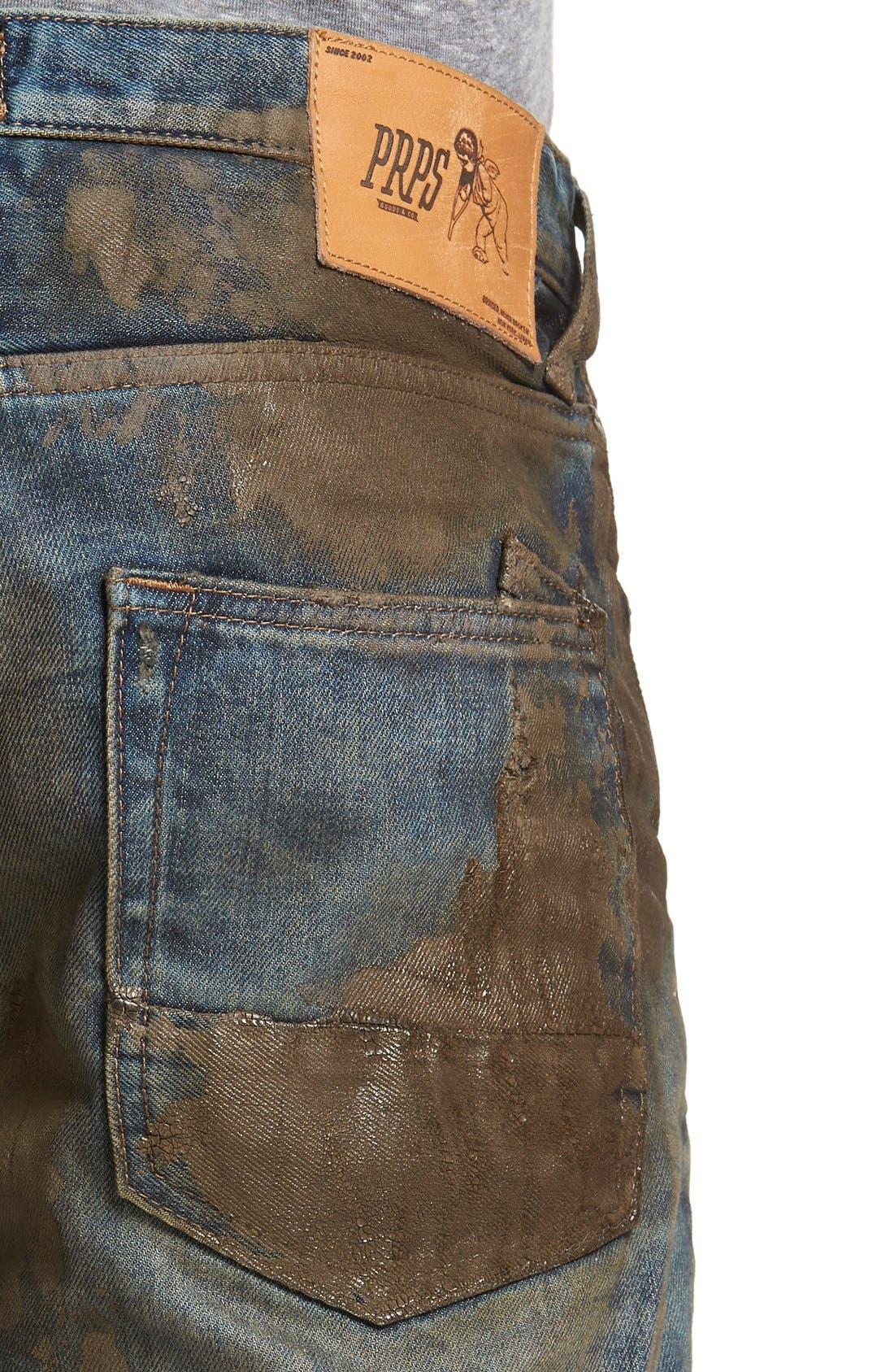 PRPS, Barracuda Straight Leg Jeans, Alternate thumbnail 4, color, 490