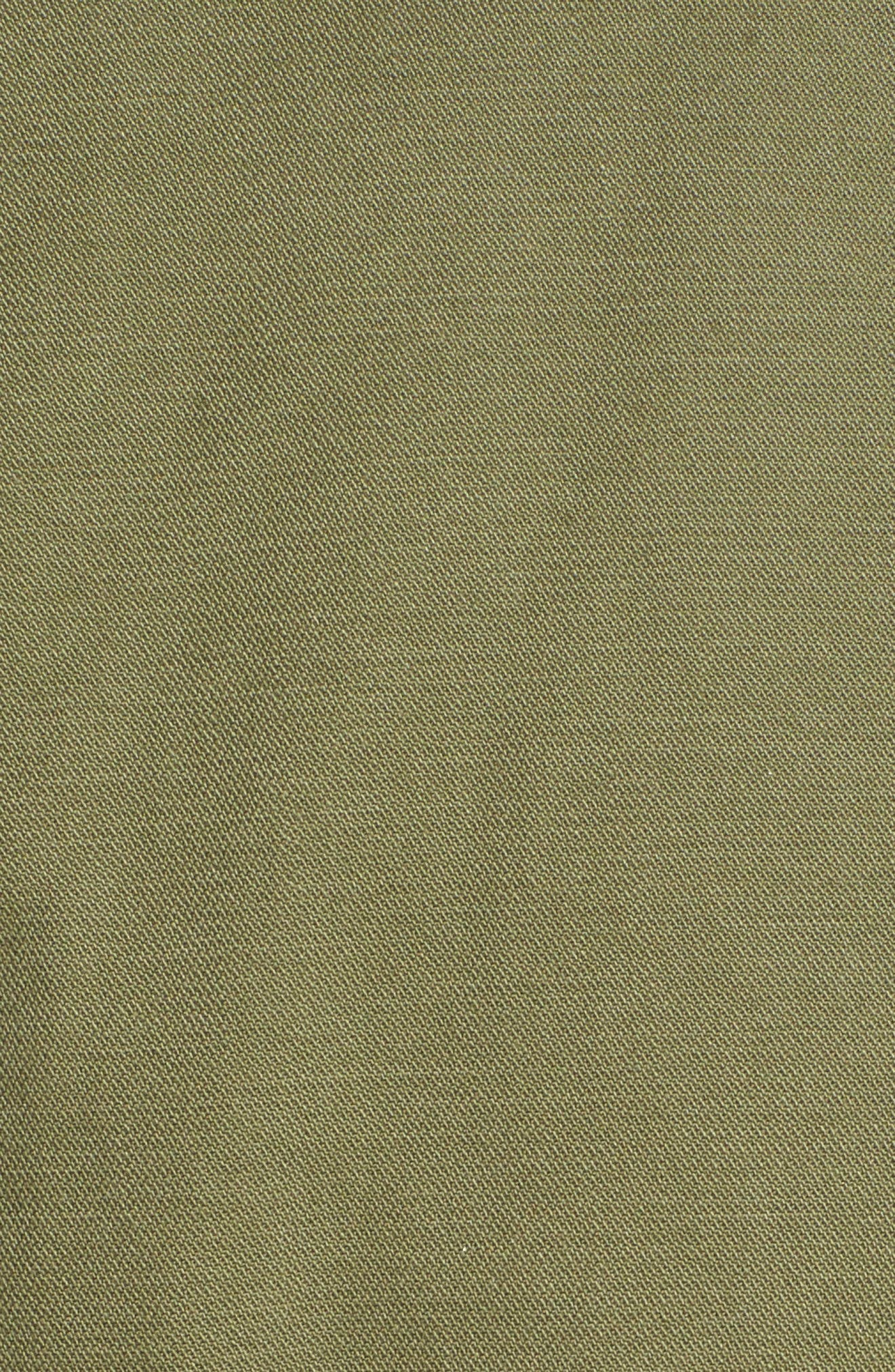 MADEWELL, Fleet Jacket, Alternate thumbnail 7, color, MILITARY SURPLUS