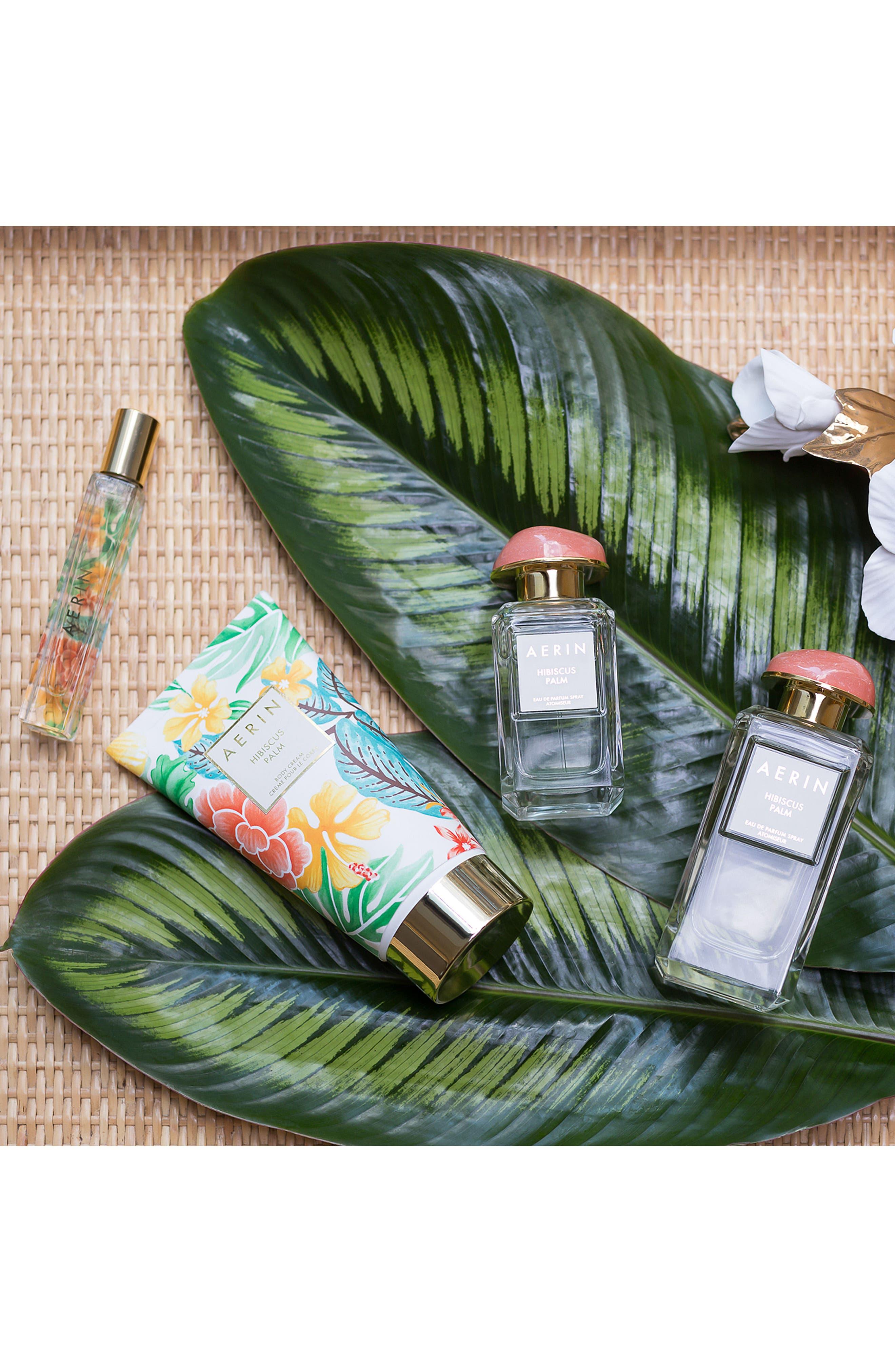 ESTÉE LAUDER, AERIN Beauty Hibiscus Palm Body Cream, Alternate thumbnail 5, color, NO COLOR