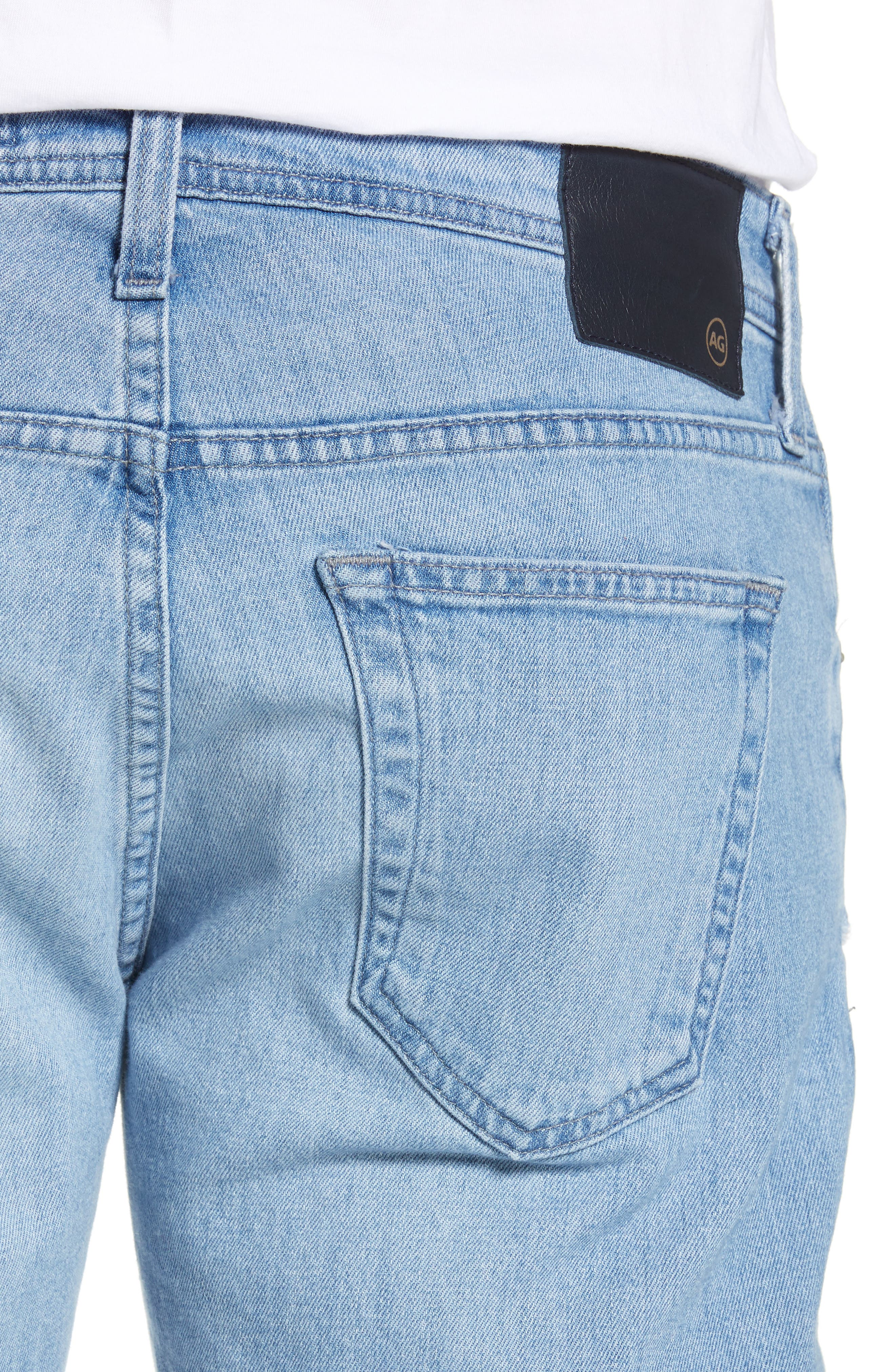 AG, Tellis Slim Fit Jeans, Alternate thumbnail 5, color, 17 YEARS PHASE