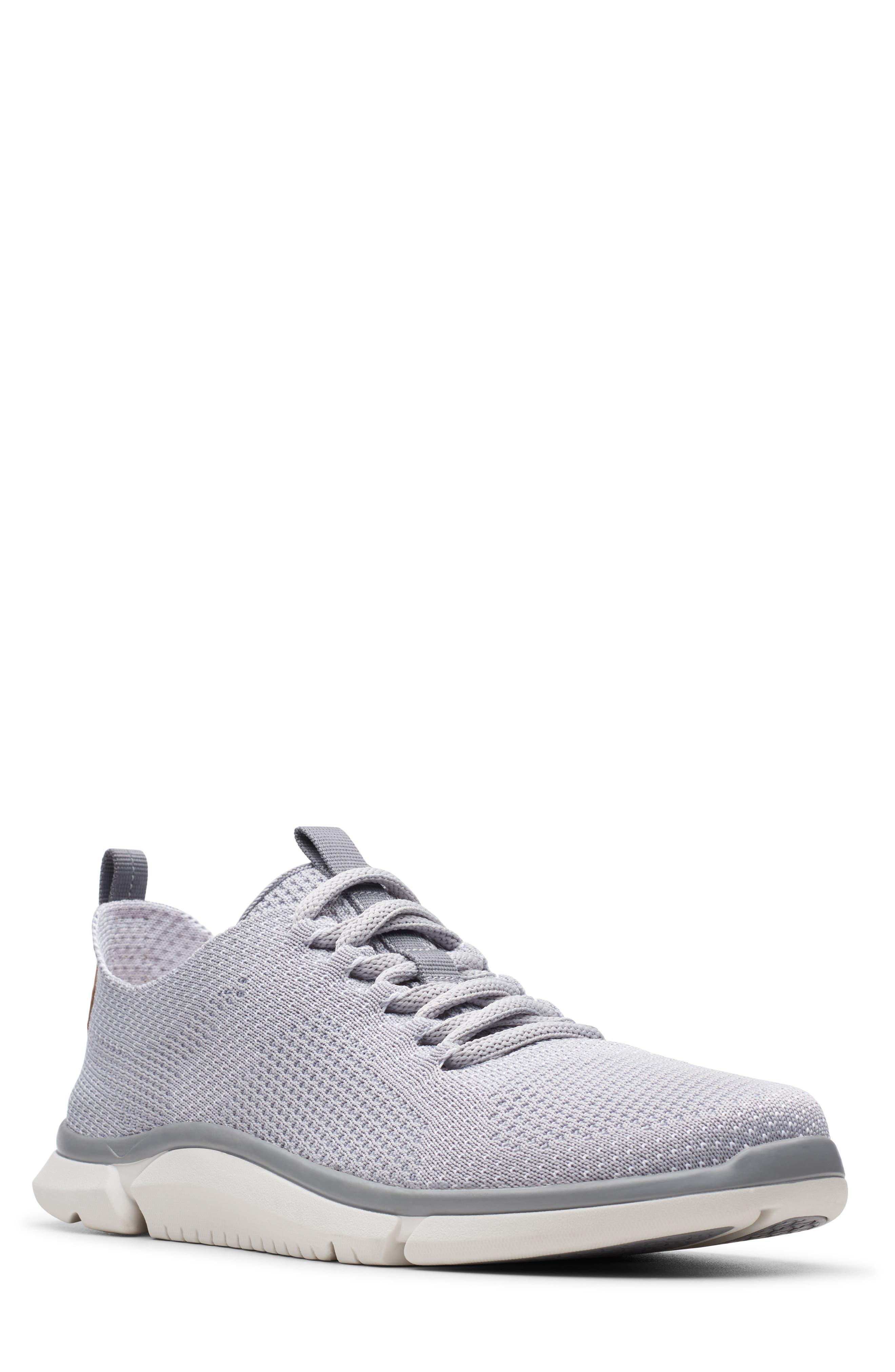 CLARKS<SUP>®</SUP> Triken Run Sneaker, Main, color, GREY
