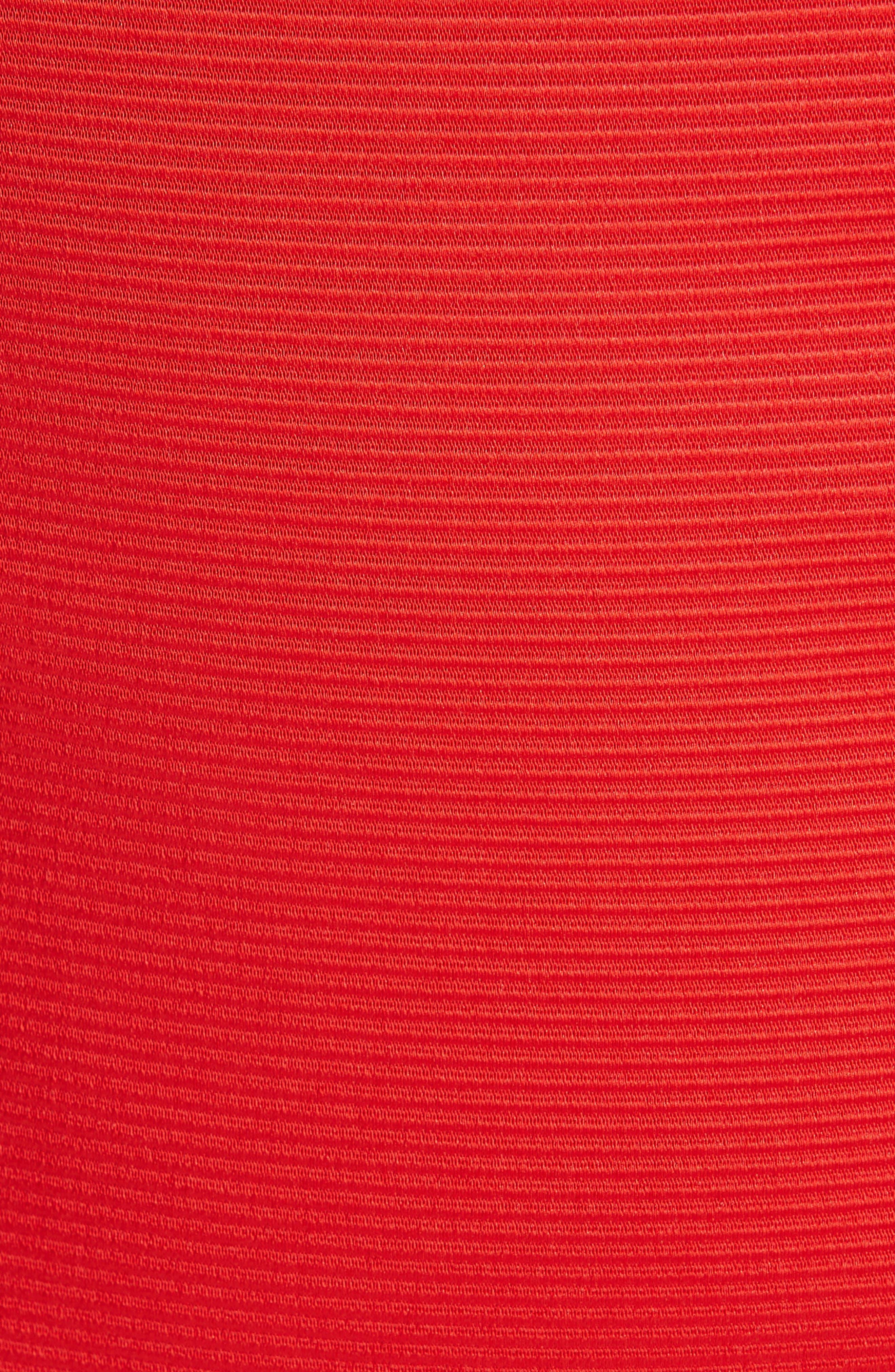 ZAC ZAC POSEN, Nina Trumpet Gown, Alternate thumbnail 7, color, RED