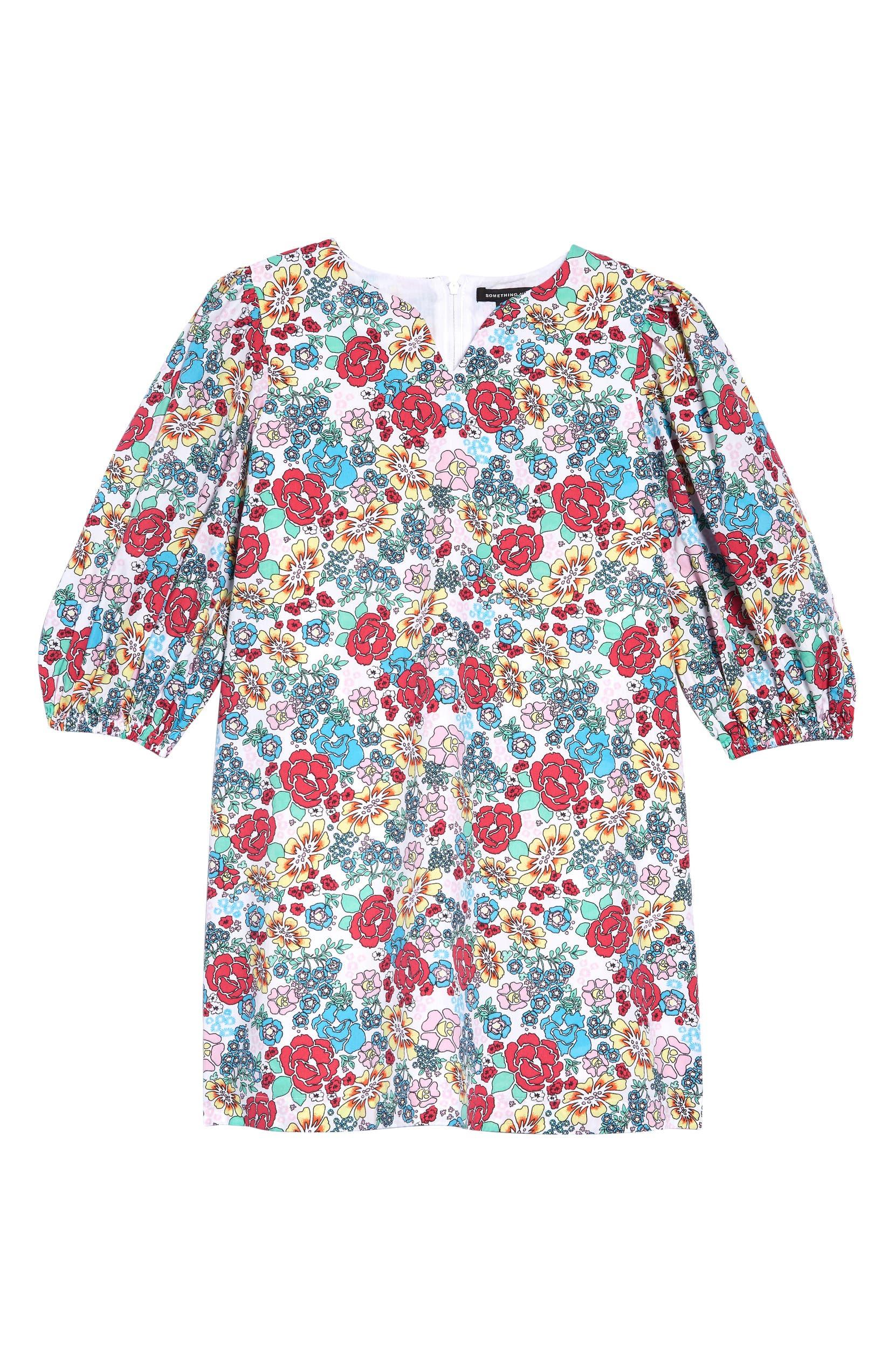ba7dbeecb8c7 Something Navy Shift Dress (Toddler Girls, Little Girls & Big Girls) ( Nordstrom Exclusive) | Nordstrom