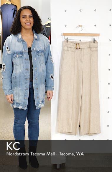 Chriselle Lim Toulouse Wide Leg Crop Trousers, sales video thumbnail