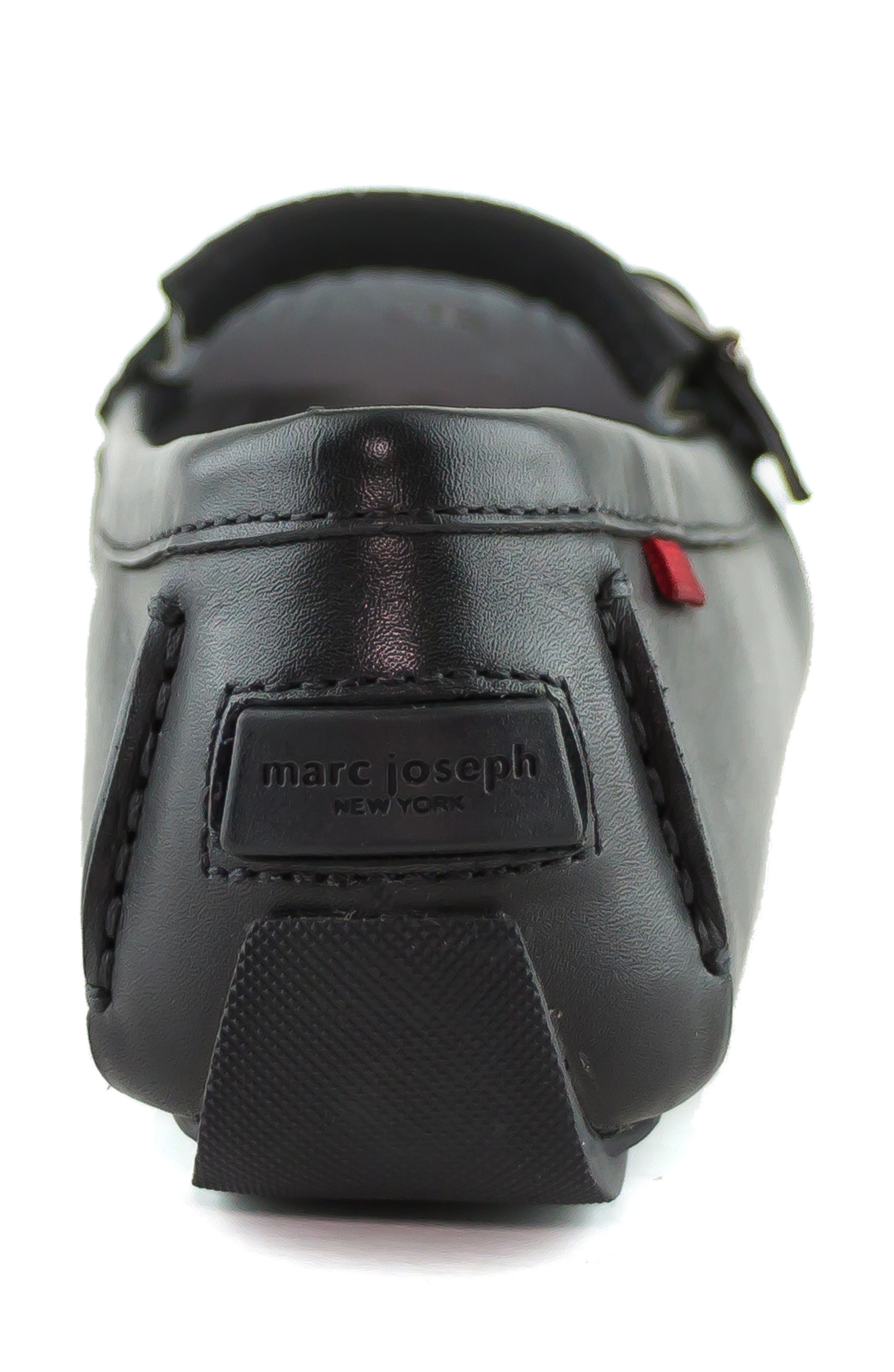 MARC JOSEPH NEW YORK, South Street Loafer, Alternate thumbnail 7, color, BLACK LEATHER