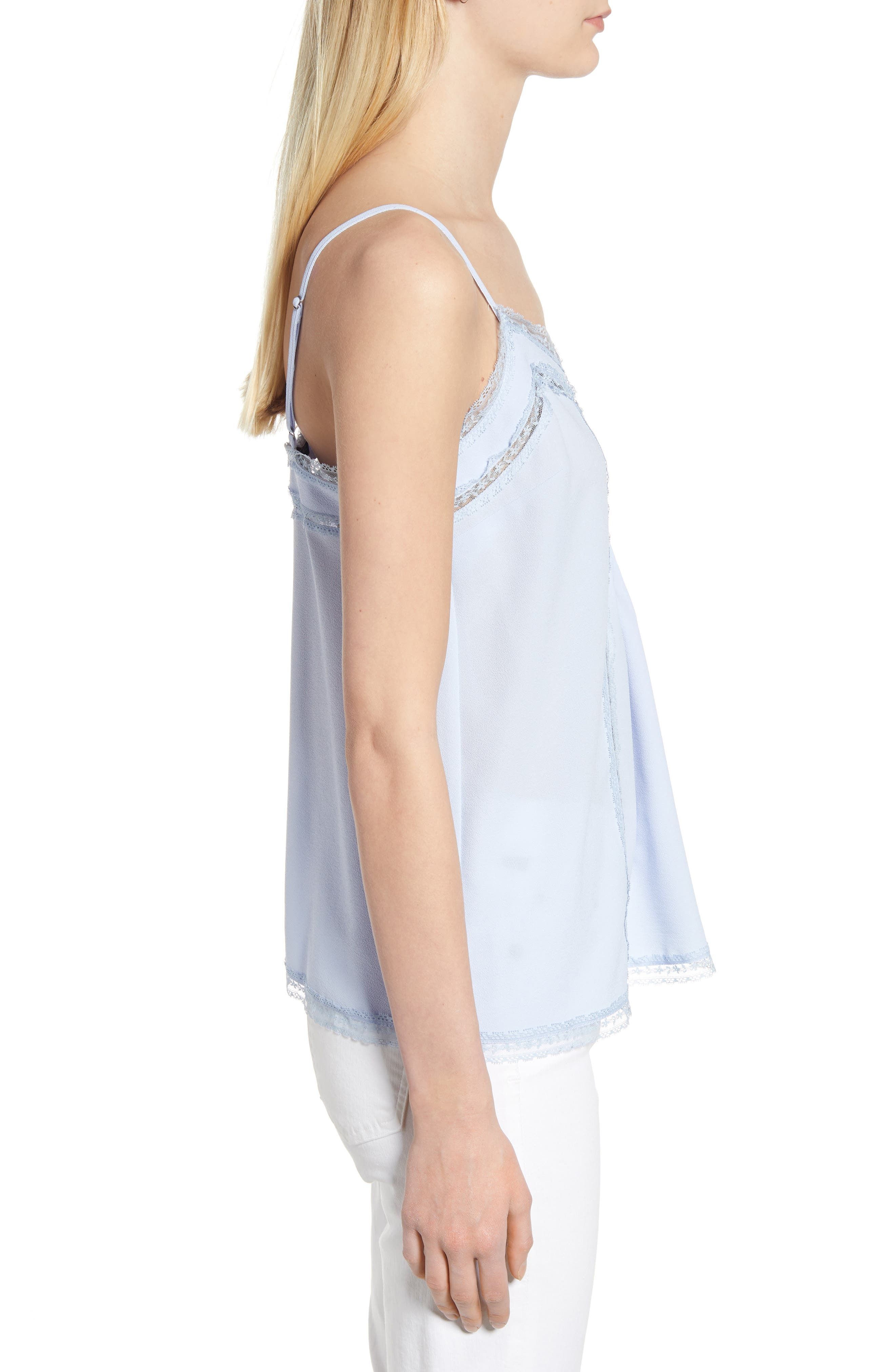 1.STATE, Lace Trim Pintuck Camisole, Alternate thumbnail 3, color, OPAL WATERS