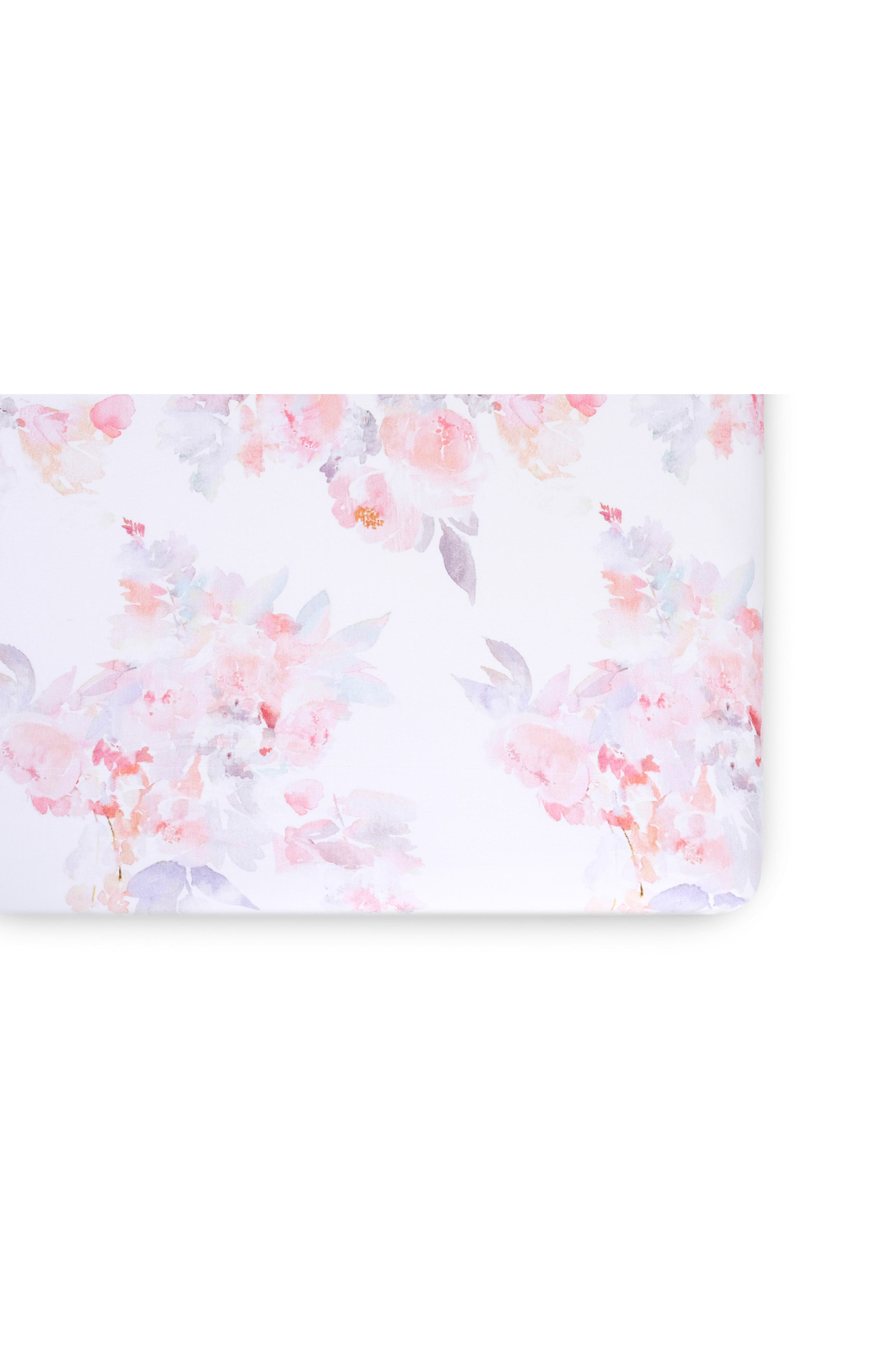 OILO, Prim Cuddle Blanket, Crib Skirt & Crib Sheet Set, Alternate thumbnail 3, color, PRIM