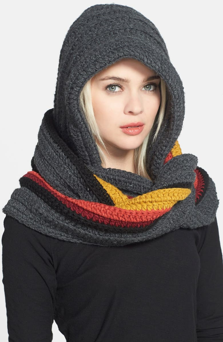a7ab36aff89 'The Santos' Oversize Hooded Scarf