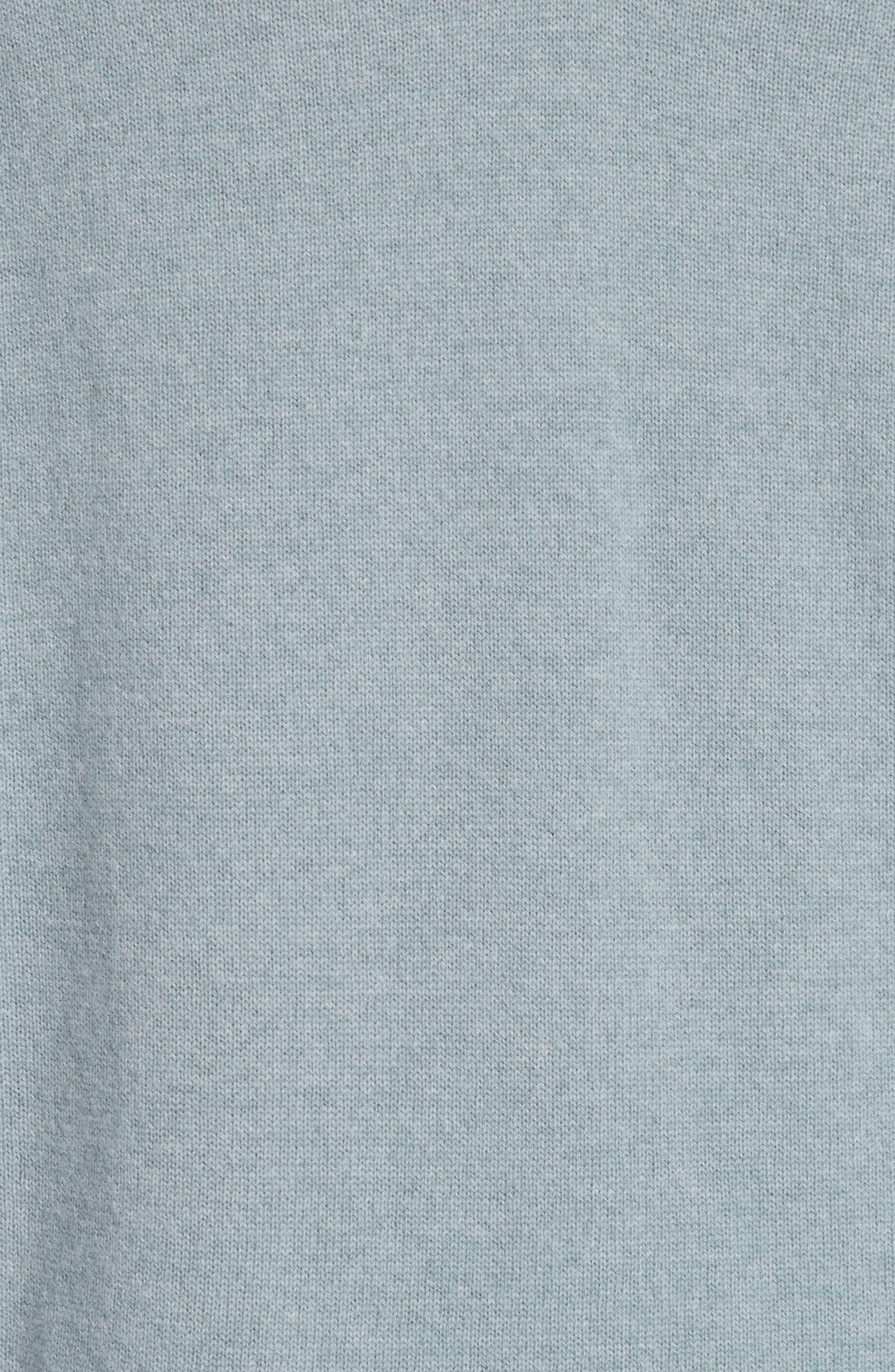 NILI LOTAN, Kylan Cashmere Sweater, Alternate thumbnail 5, color, SKY BLUE