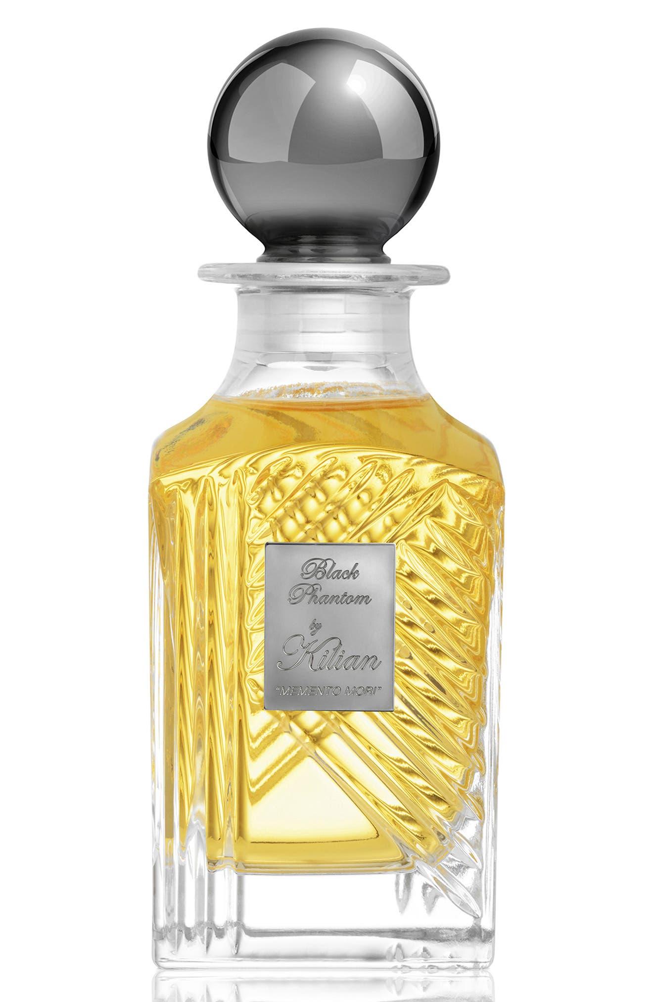 KILIAN, Black Phantom Memento Mori Eau de Parfum Mini Carafe, Main thumbnail 1, color, NO COLOR