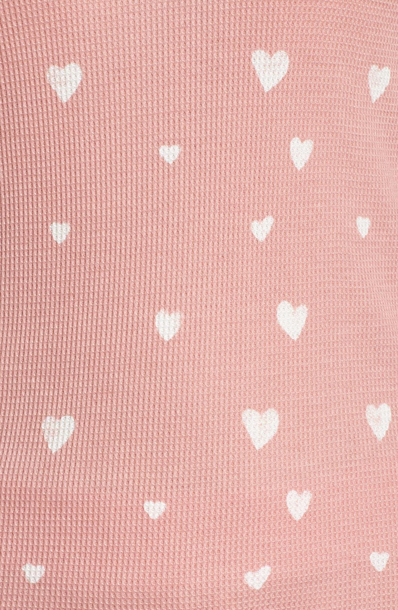 RETROSPECTIVE CO., Thermal Pajamas, Alternate thumbnail 5, color, 650