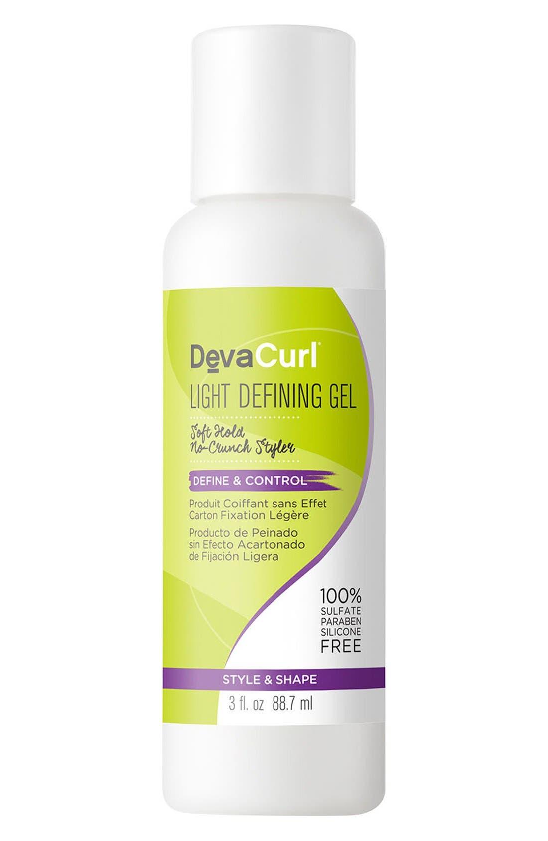 DEVACURL, Light Defining Gel Soft Hold No-Crunch Styler, Alternate thumbnail 4, color, NO COLOR