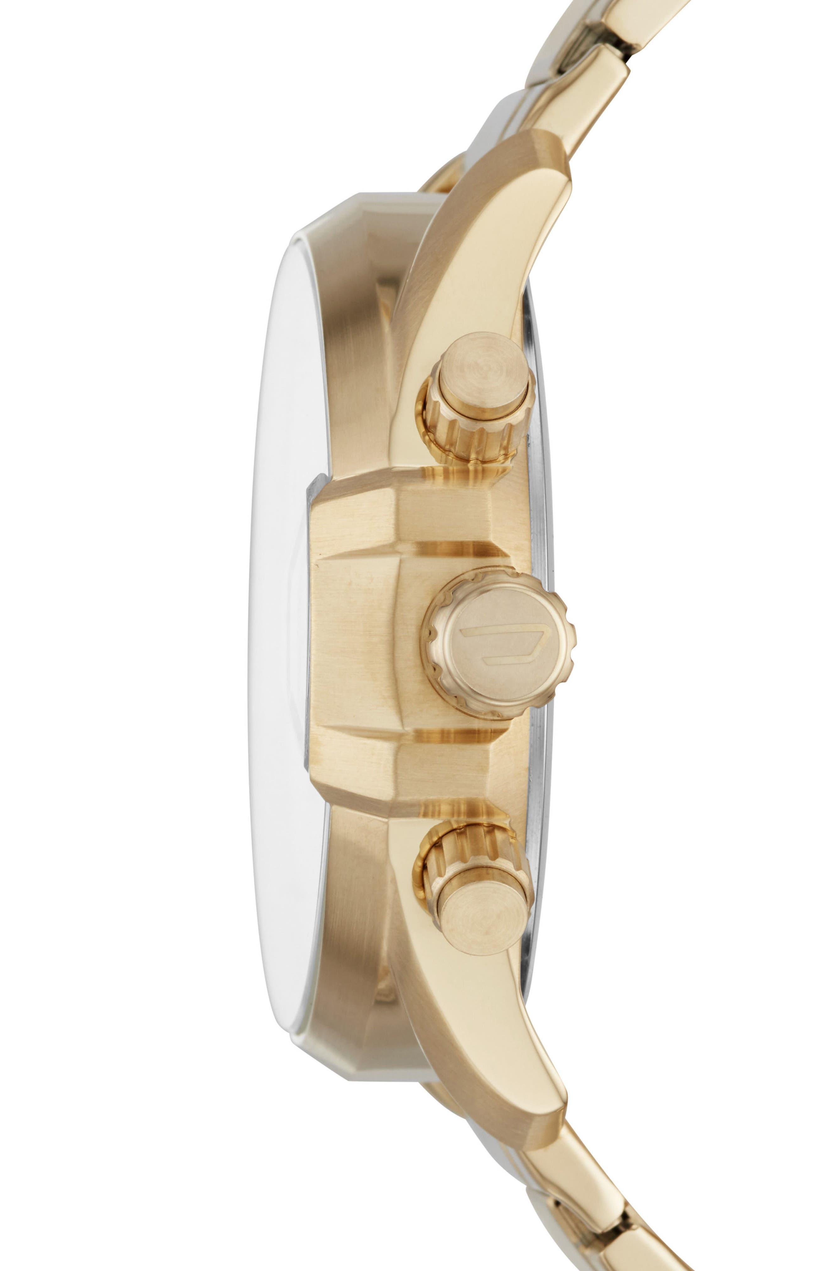 DIESEL<SUP>®</SUP>, MS9 Chronograph Bracelet Watch, 47mm x 54mm, Alternate thumbnail 2, color, 710