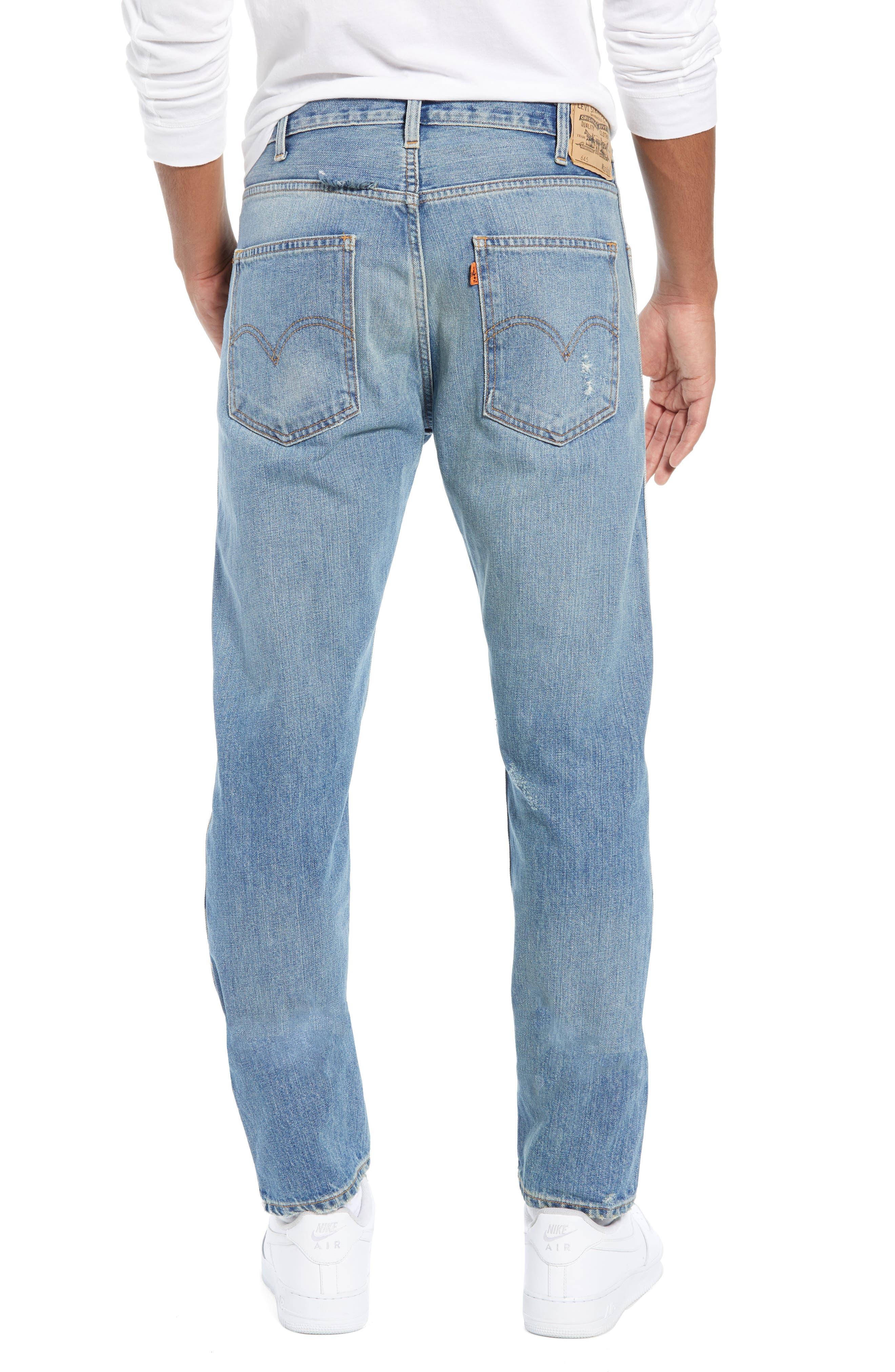 LEVI'S<SUP>®</SUP> VINTAGE CLOTHING, 1969 606<sup>™</sup> Slim Fit Jeans, Alternate thumbnail 2, color, 423