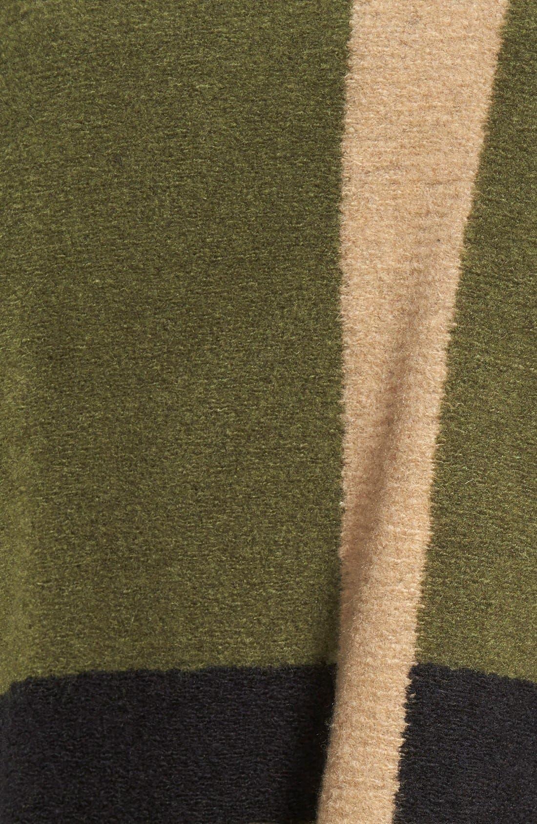 VINCE CAMUTO, Blanket Jacquard Poncho, Alternate thumbnail 3, color, 342