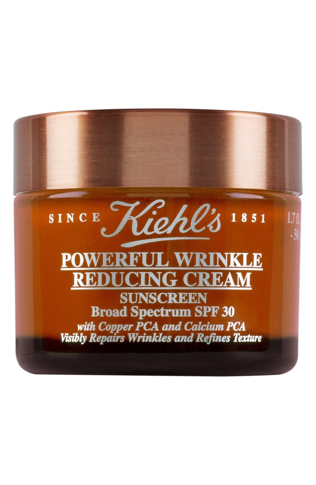 KIEHL'S SINCE 1851, Powerful Wrinkle Reducing Cream Broad Spectrum SPF 30, Main thumbnail 1, color, NO COLOR