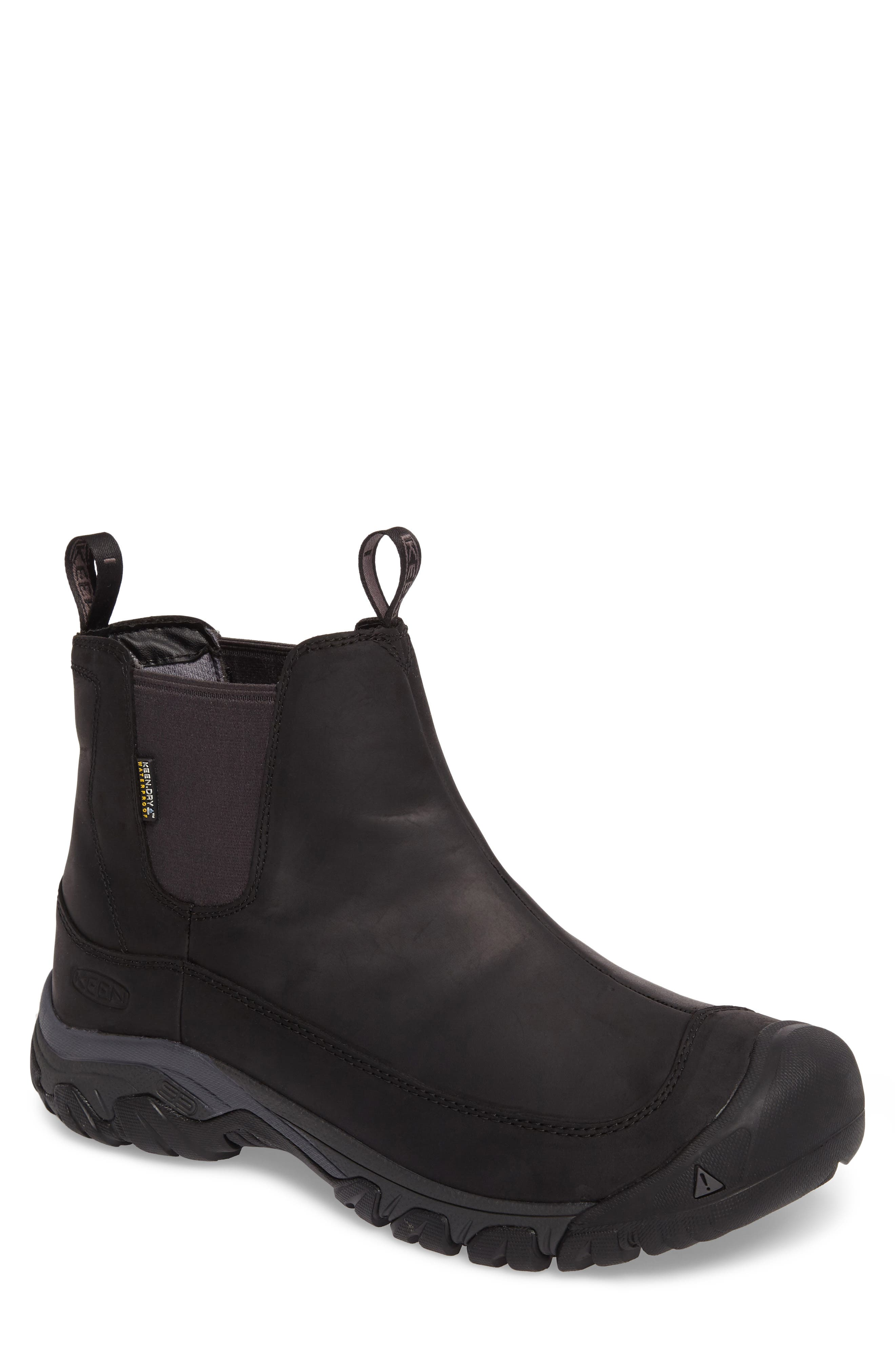 KEEN Anchorage II Waterproof Chelsea Boot, Main, color, 001