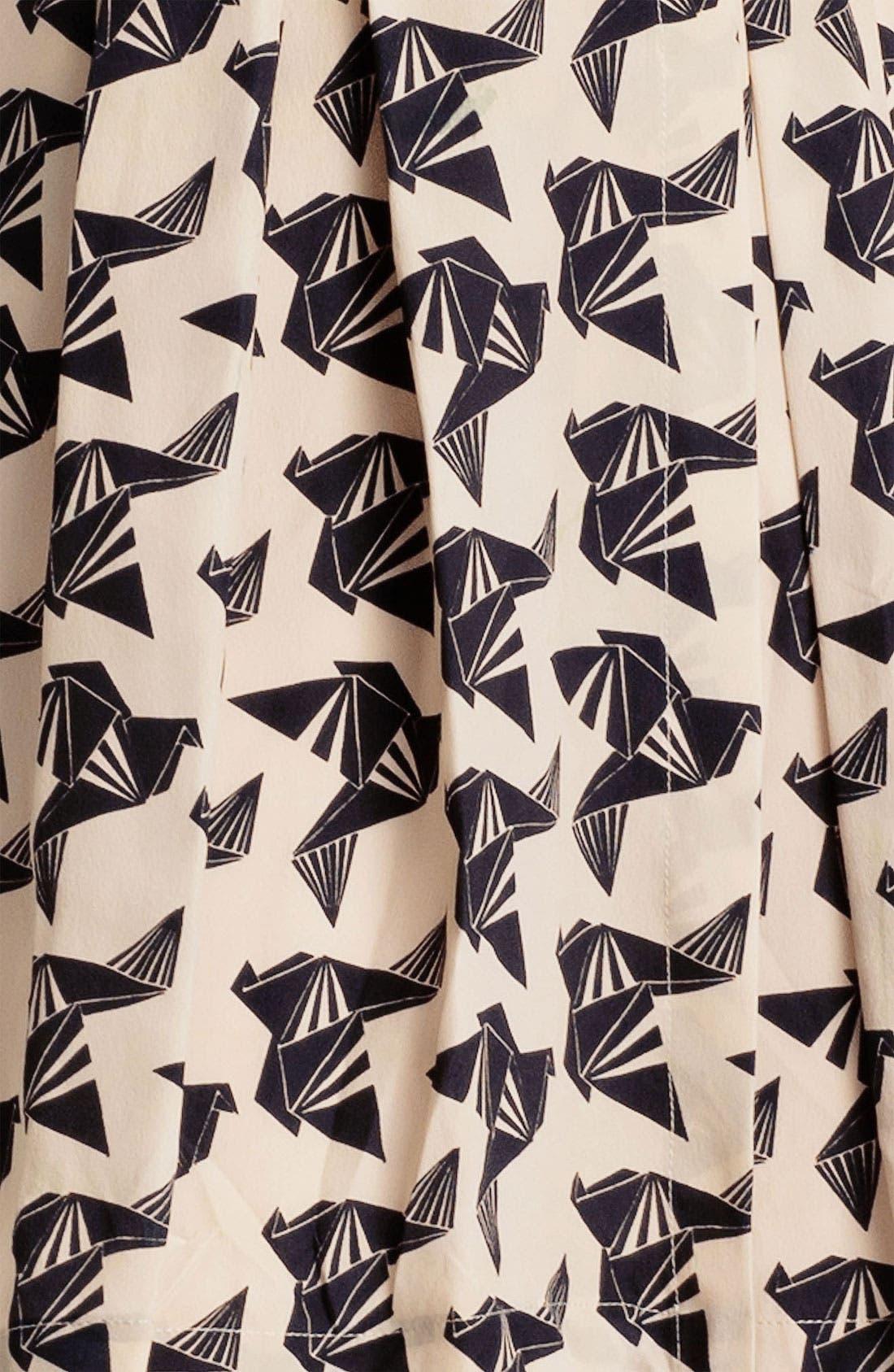 ELIZA J, Print Fit & Flare Dress, Alternate thumbnail 2, color, 011