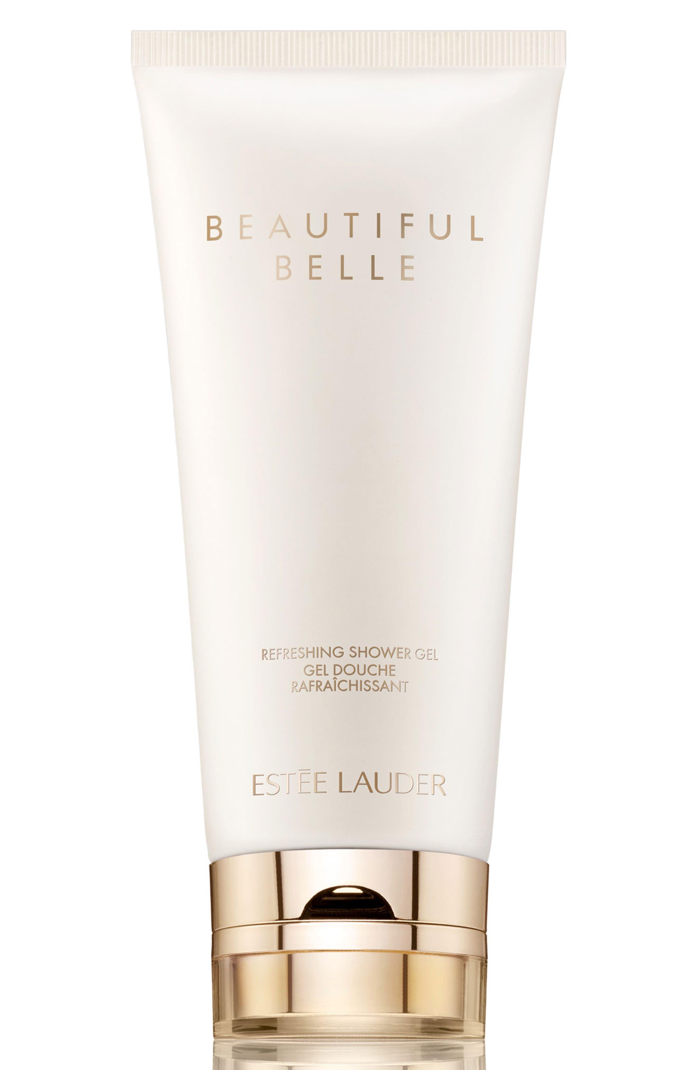 ESTÉE LAUDER, Beautiful Belle Refreshing Shower Gel, Main thumbnail 1, color, NO COLOR