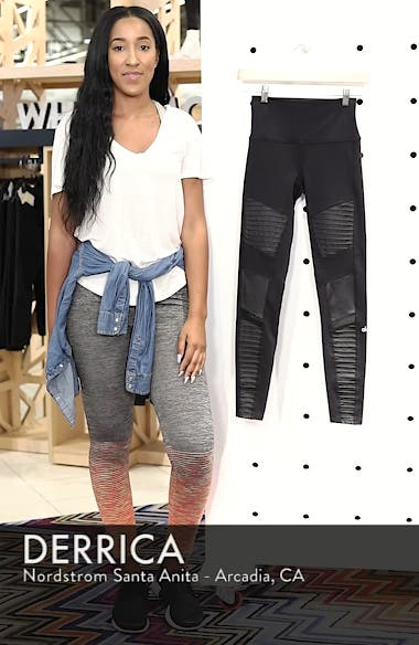 High Waist Moto Leggings, sales video thumbnail