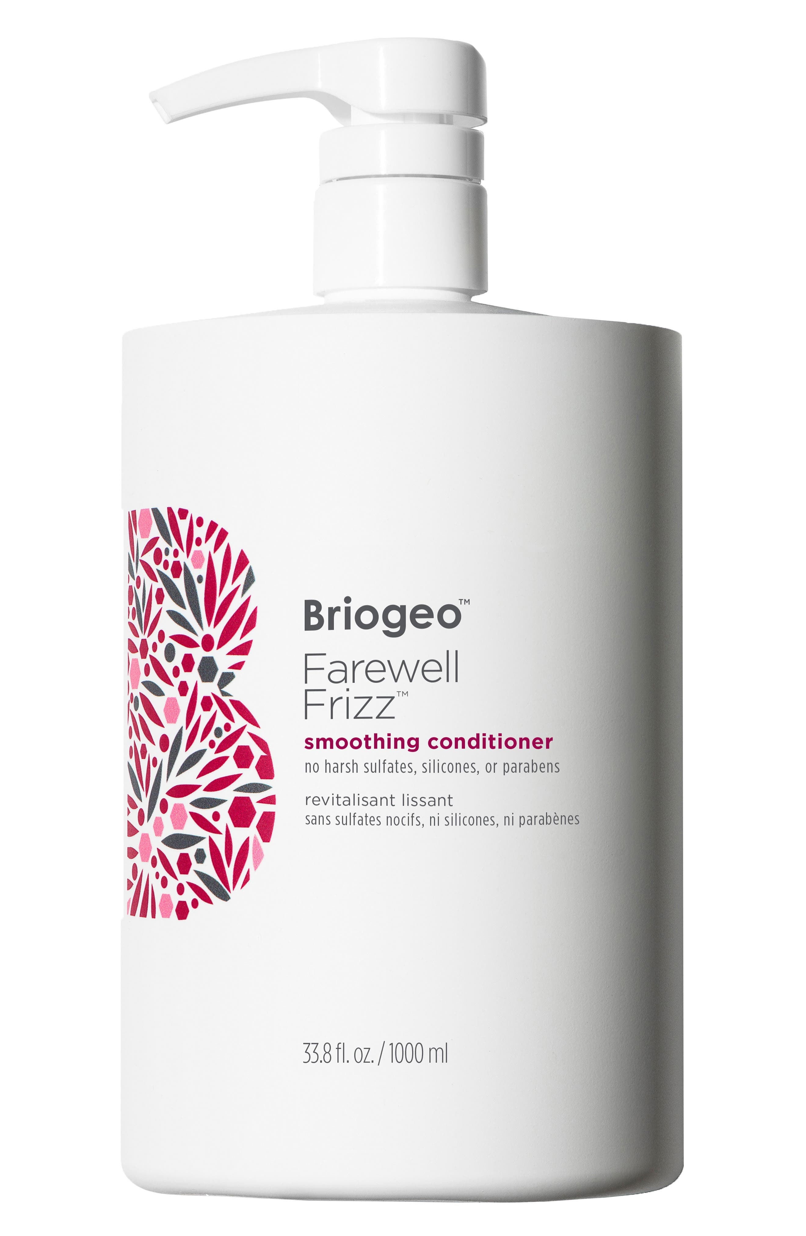 BRIOGEO, Farewell Frizz Smoothing Conditioner, Alternate thumbnail 2, color, NO COLOR