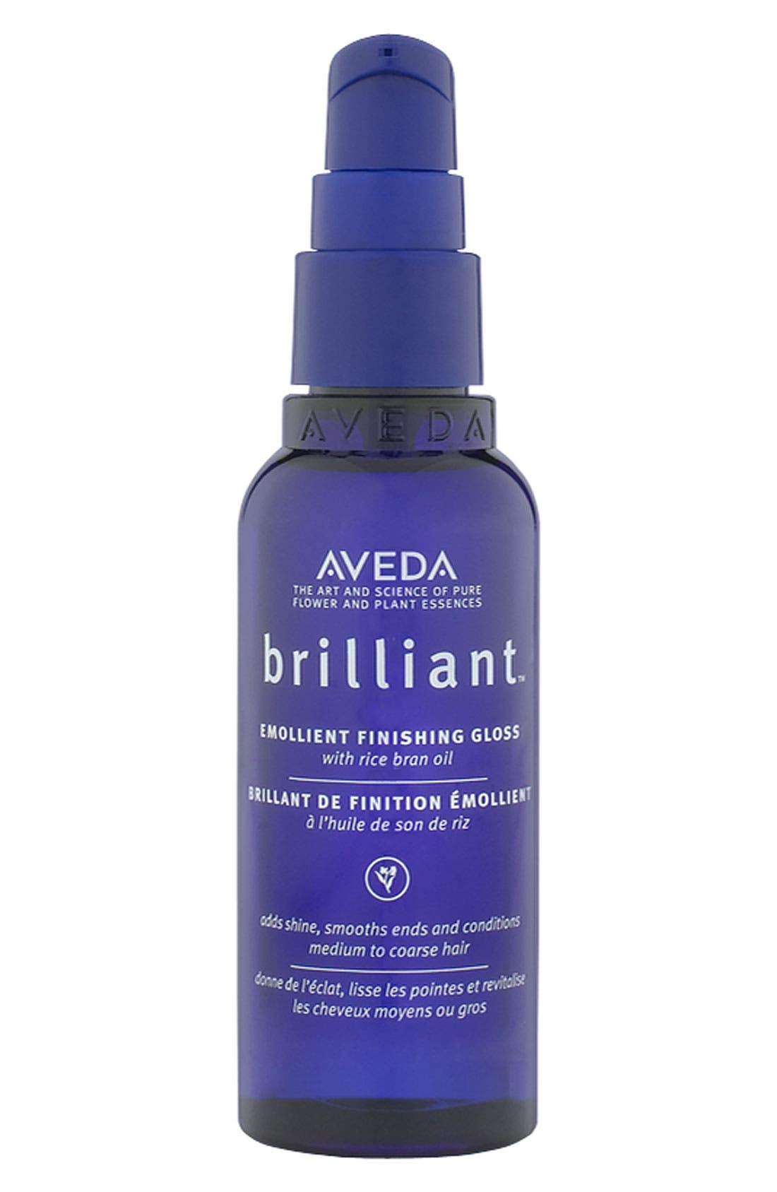 AVEDA brilliant<sup>™</sup> Emollient Finishing Gloss, Main, color, NO COLOR