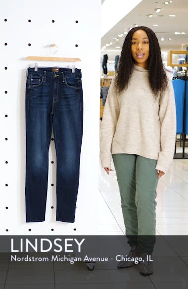 The Looker High Waist Ankle Jeans, sales video thumbnail