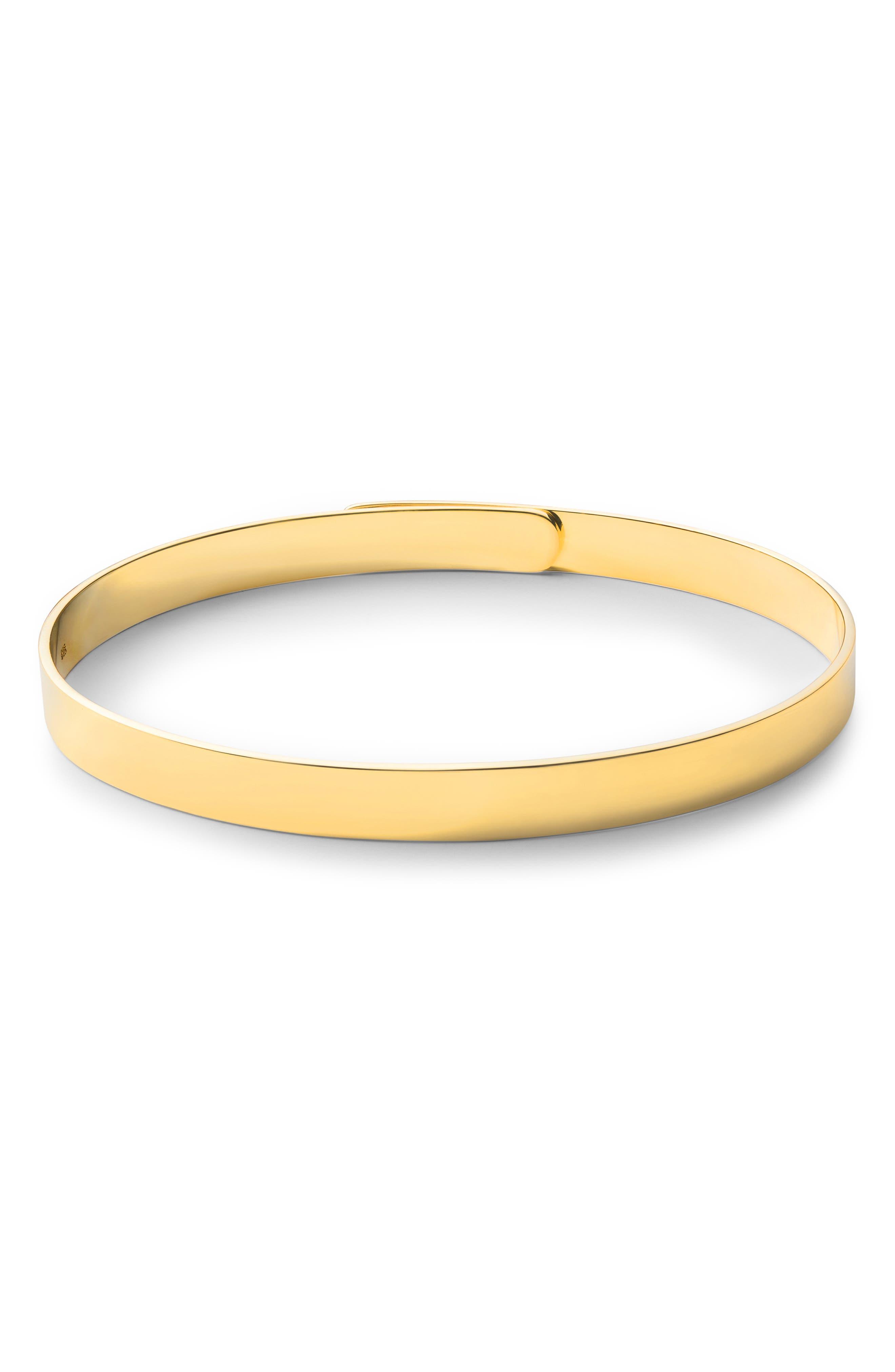 MIANSAI, Gold Vermeil Cuff Bracelet, Alternate thumbnail 2, color, 715