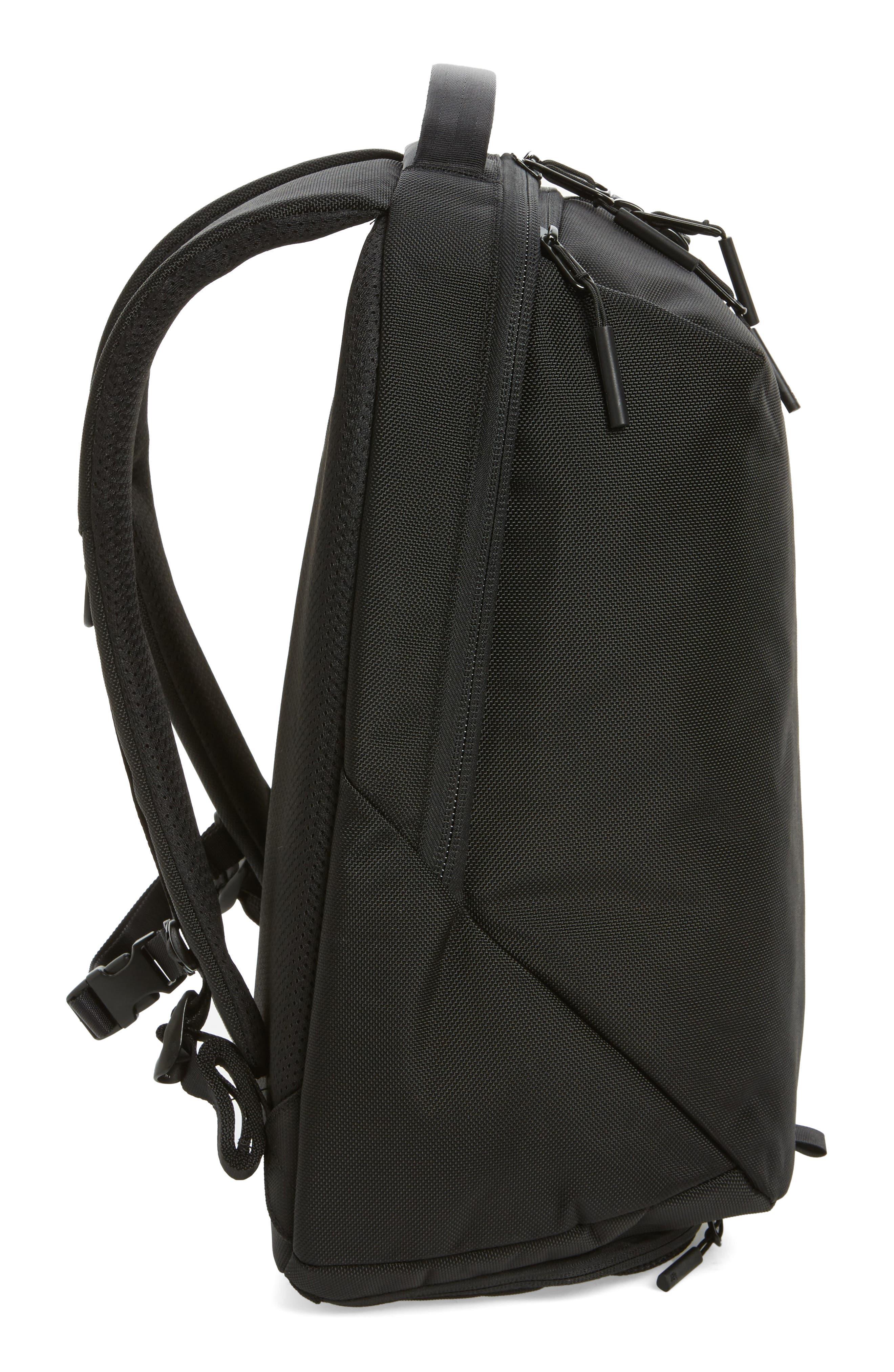 AER, Fit Pack 2 Backpack, Alternate thumbnail 6, color, BLACK