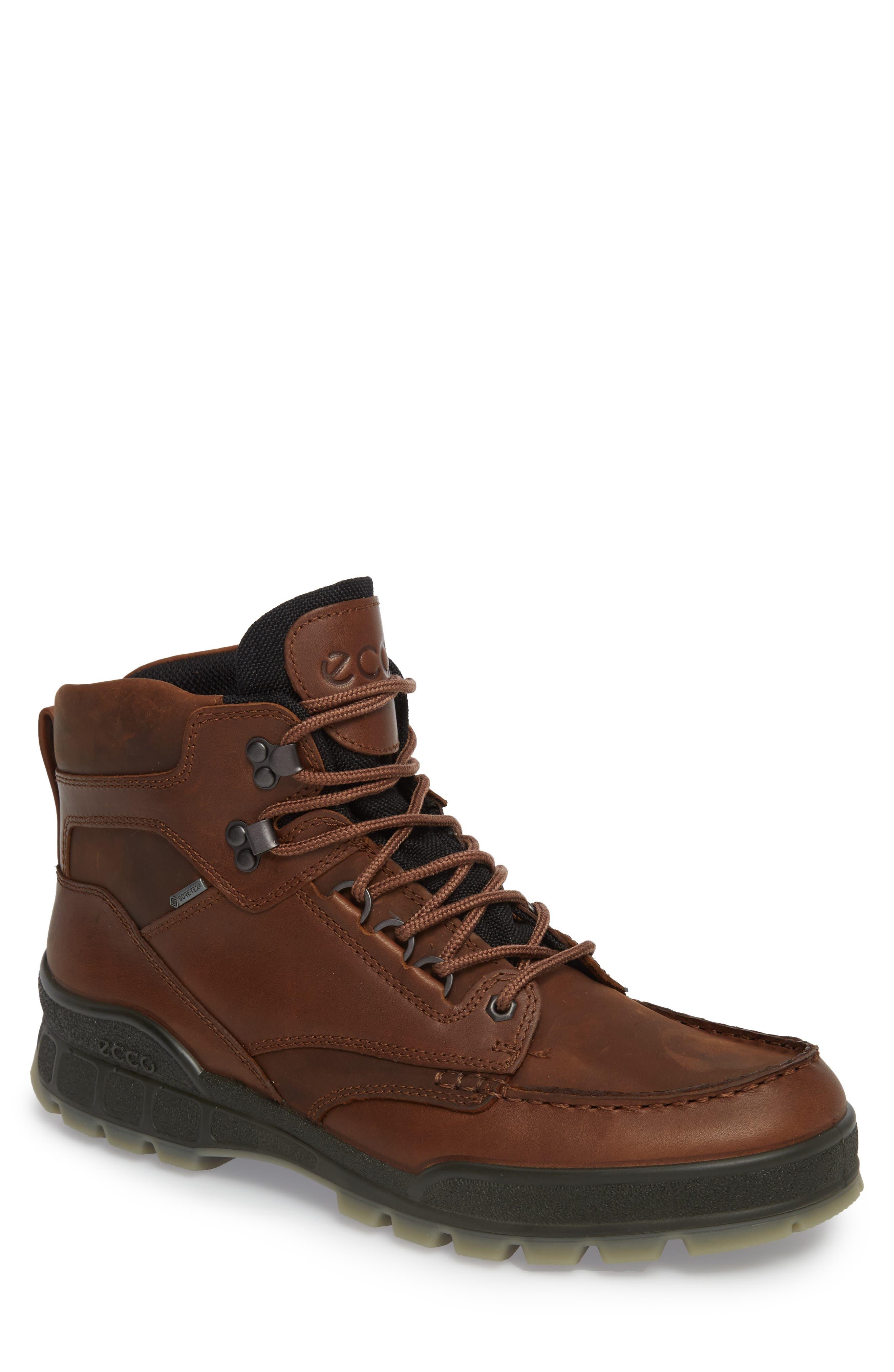 Ecco Track Ii High Waterproof Boot,8.5 - Metallic