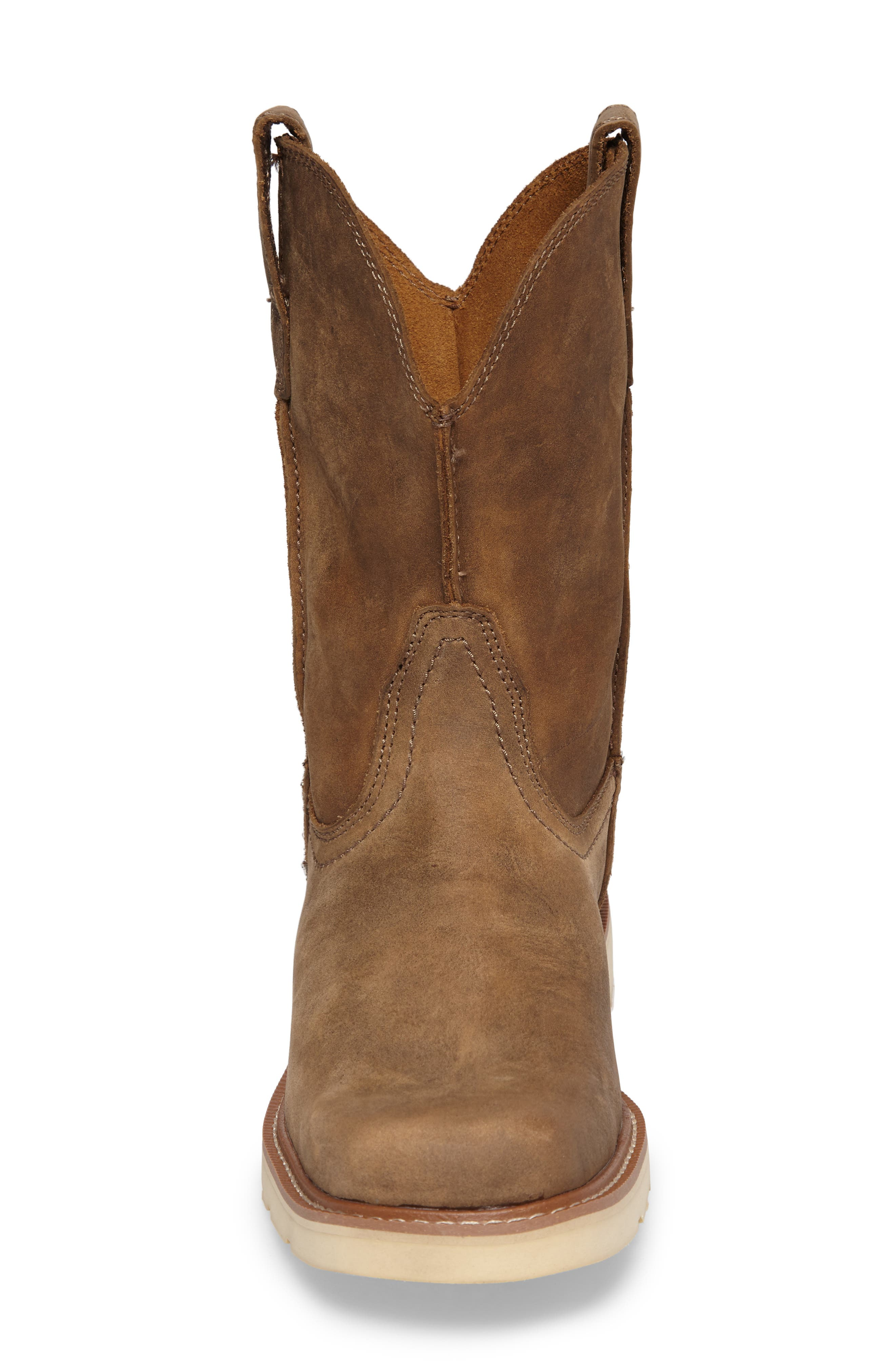 ARIAT, Rambler Tall Boot, Alternate thumbnail 4, color, BROWN BOMBER LEATHER