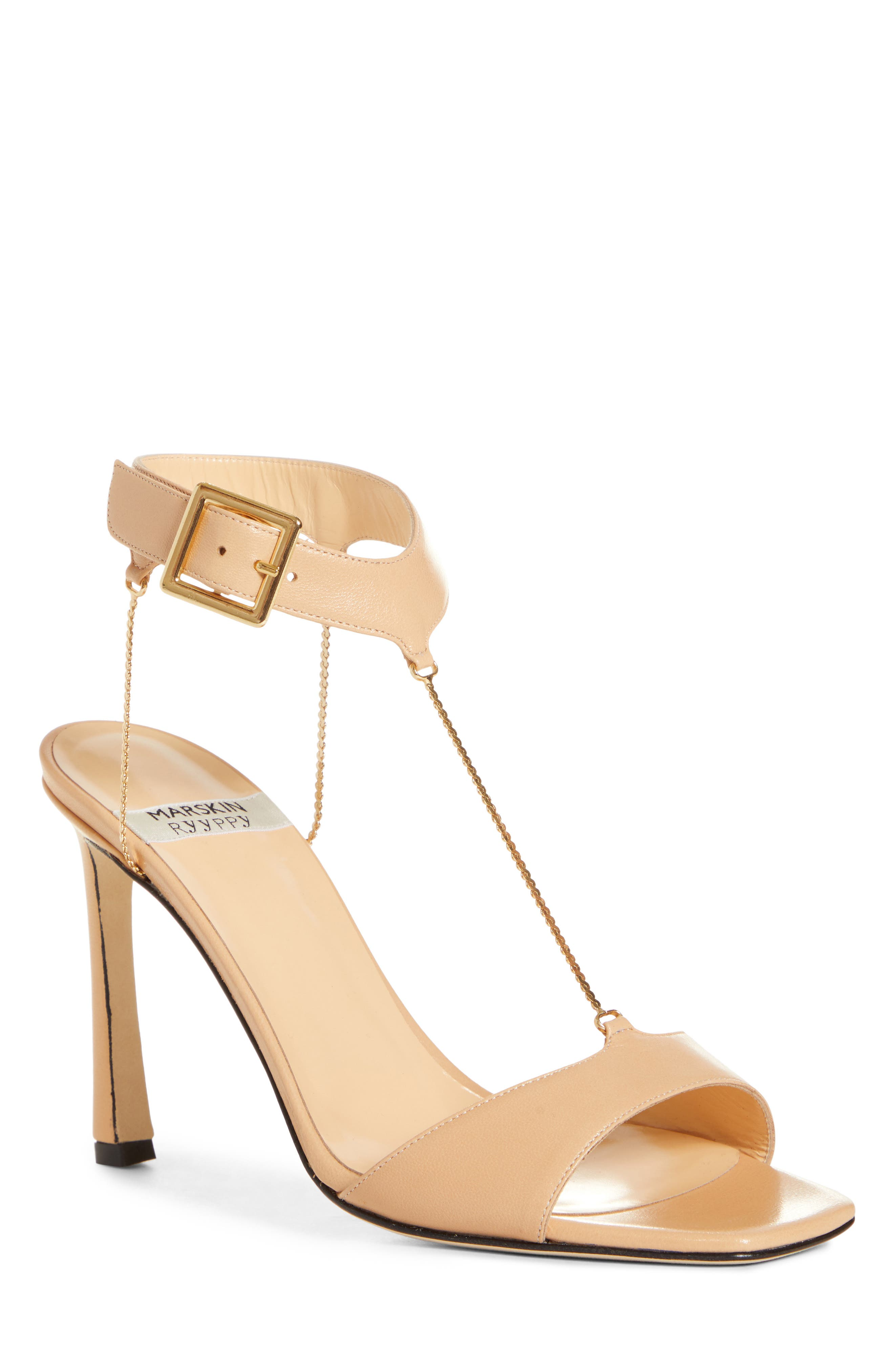 MARSKINRYYPPY Ember Sandal, Main, color, NUDE LEATHER 449