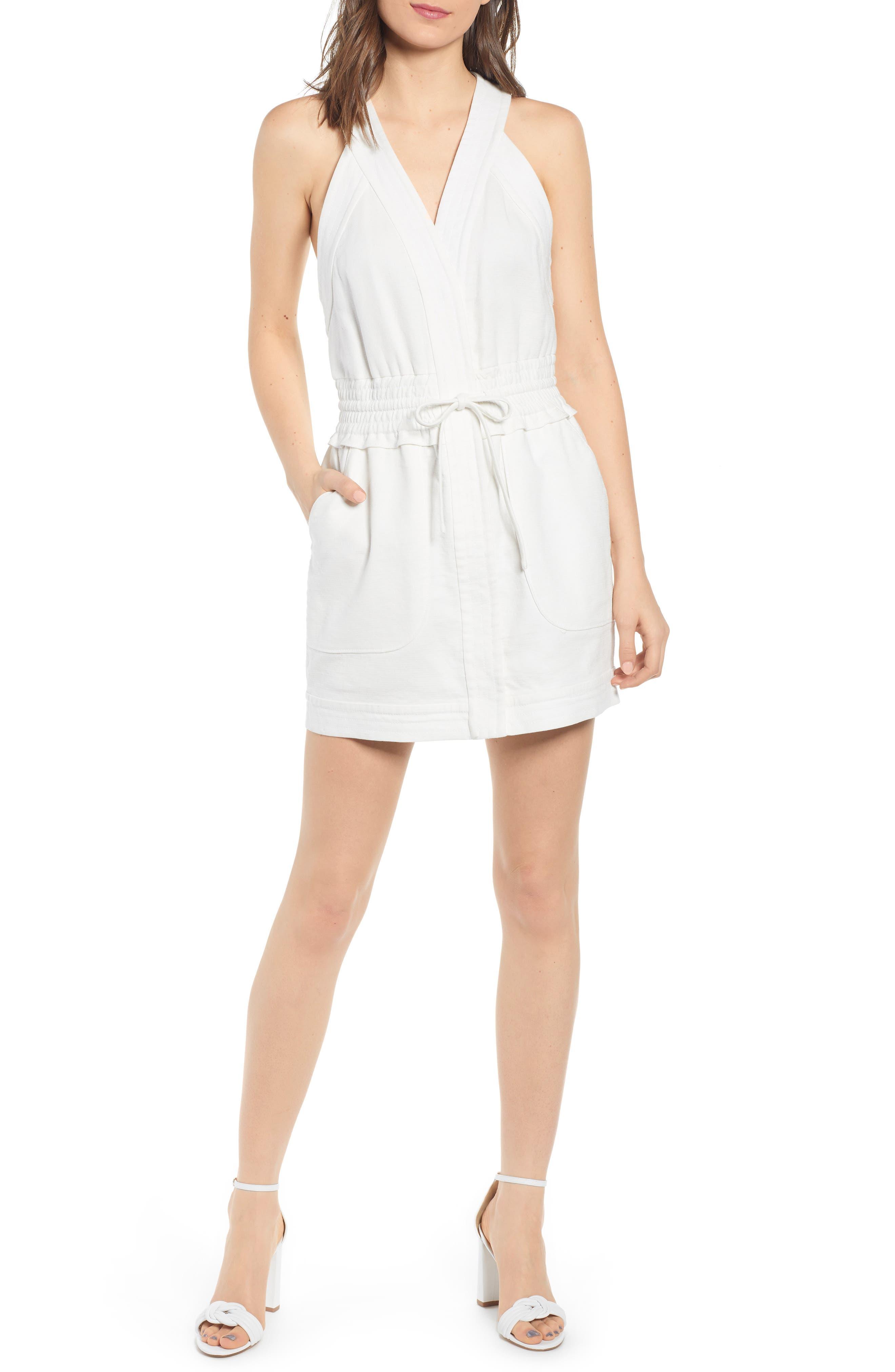 Rebecca Minkoff Royal Racerback Dress, White
