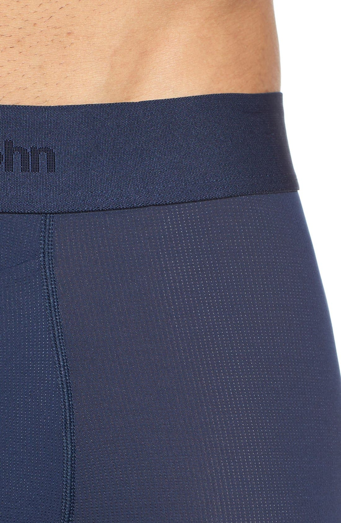 TOMMY JOHN, Air Trunks, Alternate thumbnail 4, color, DRESS BLUES