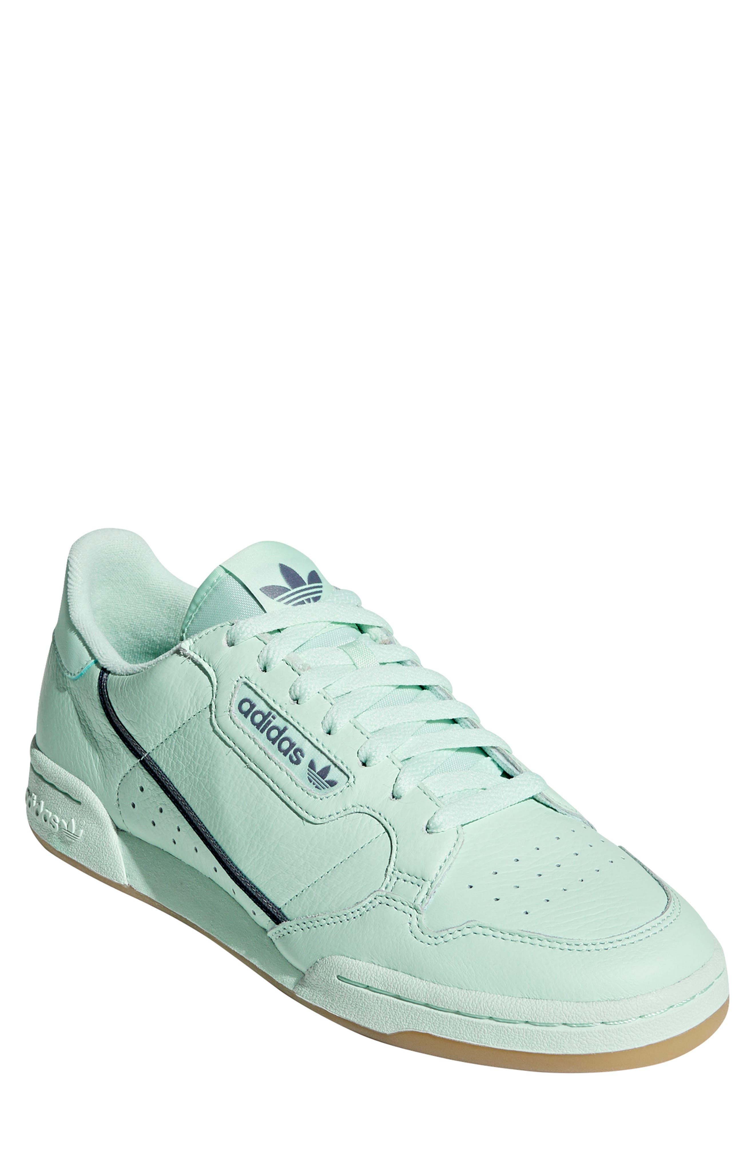 ADIDAS, Continental 80 Sneaker, Main thumbnail 1, color, ICE MINT/ NAVY/ GREY