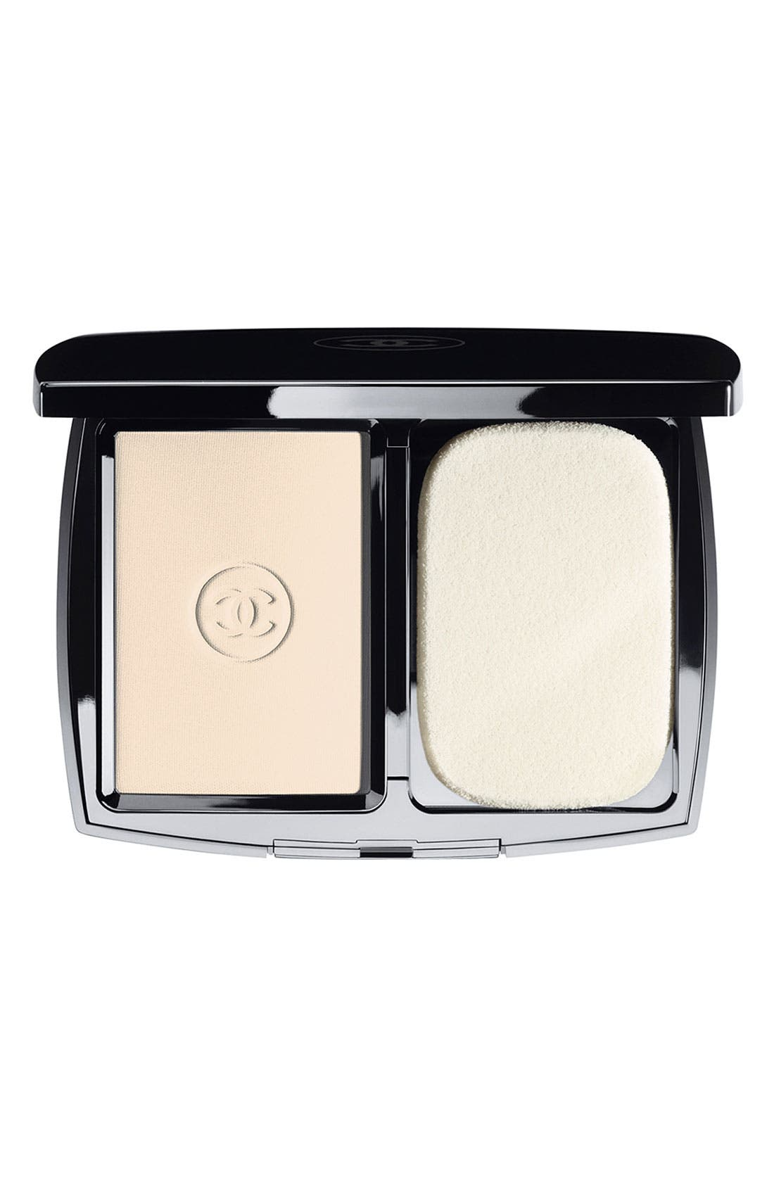 CHANEL DOUBLE PERFECTION LUMIÈRE<br />Long-Wear Flawless Sunscreen Powder Makeup Broad Spectrum SPF 15, Main, color, 250