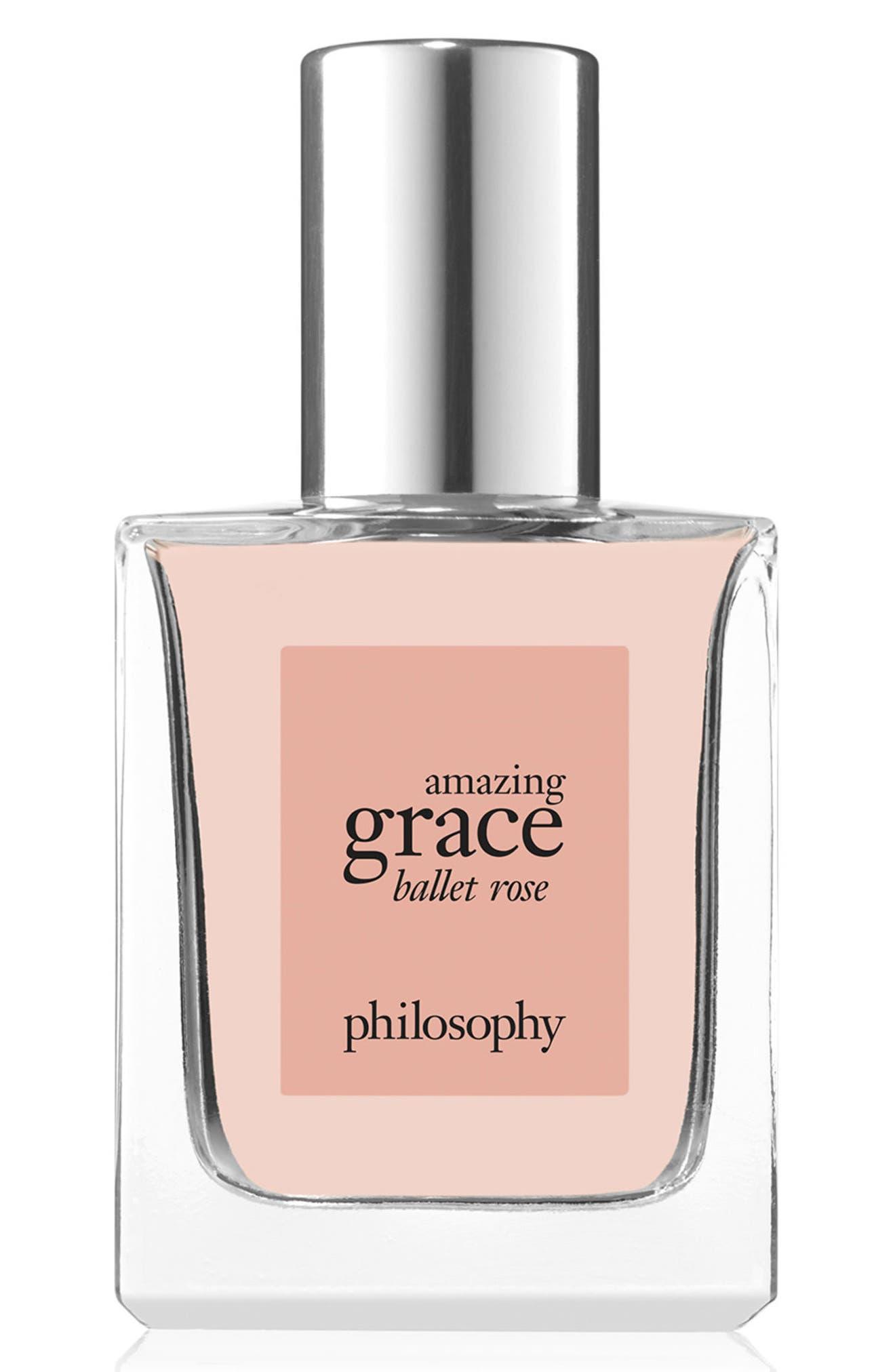 PHILOSOPHY amazing grace ballet rose eau de toilette, Main, color, NO COLOR