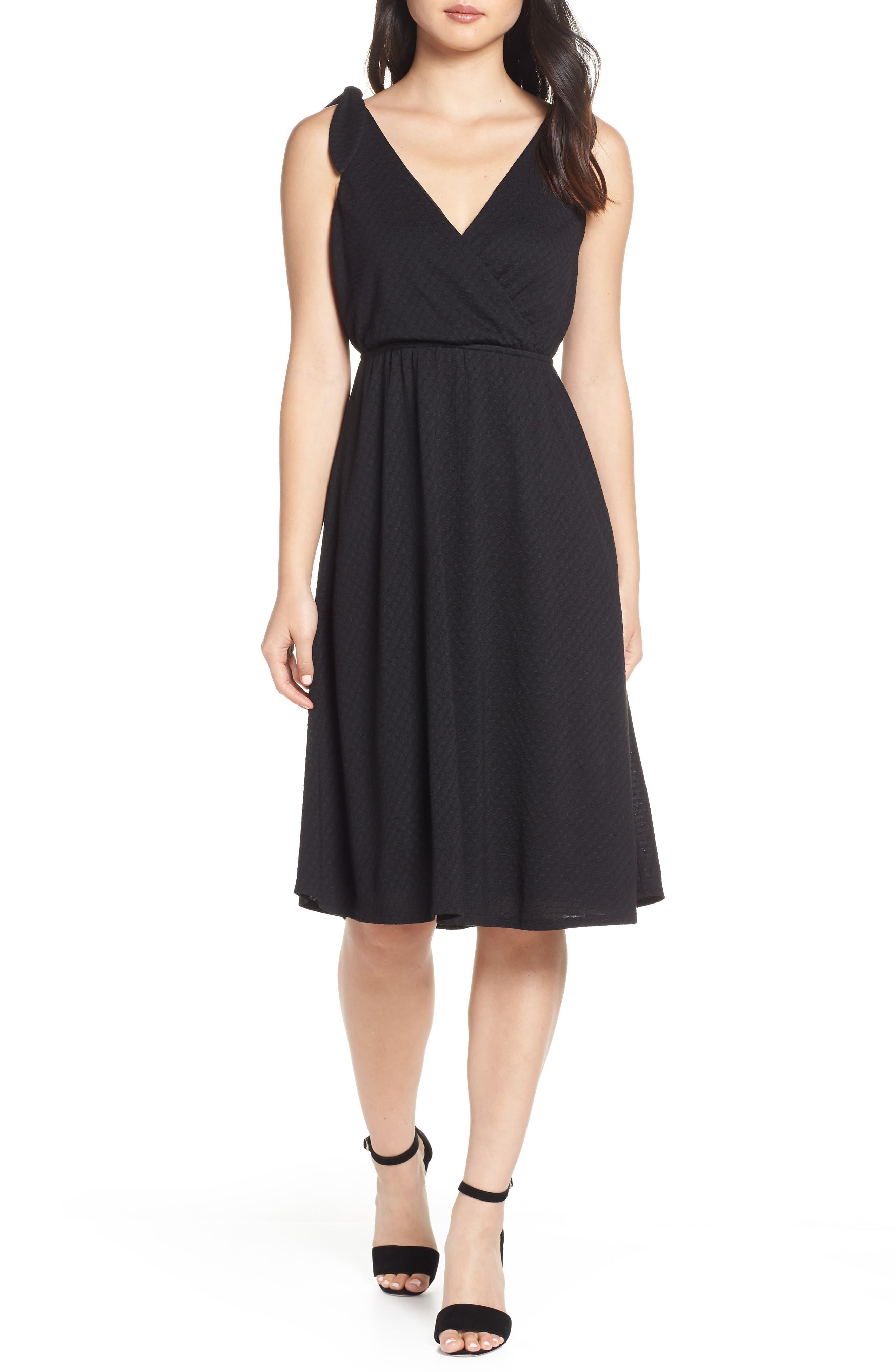 ALI & JAY Fly Baby Dress, Main, color, BLACK
