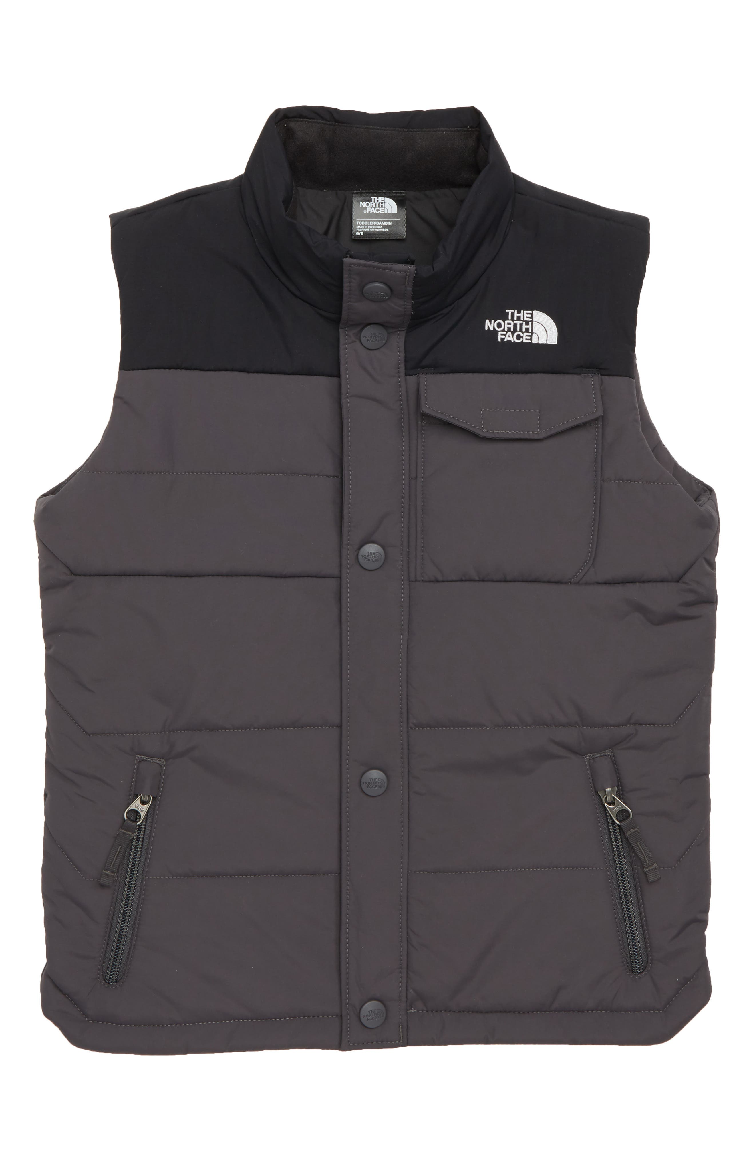 Toddler Boys The North Face Patricks Point Vest Size 3T  Grey